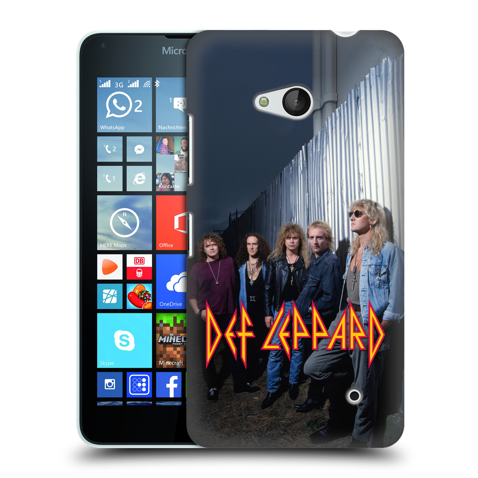 OFFICIAL-DEF-LEPPARD-PHOTOS-HARD-BACK-CASE-FOR-MICROSOFT-PHONES