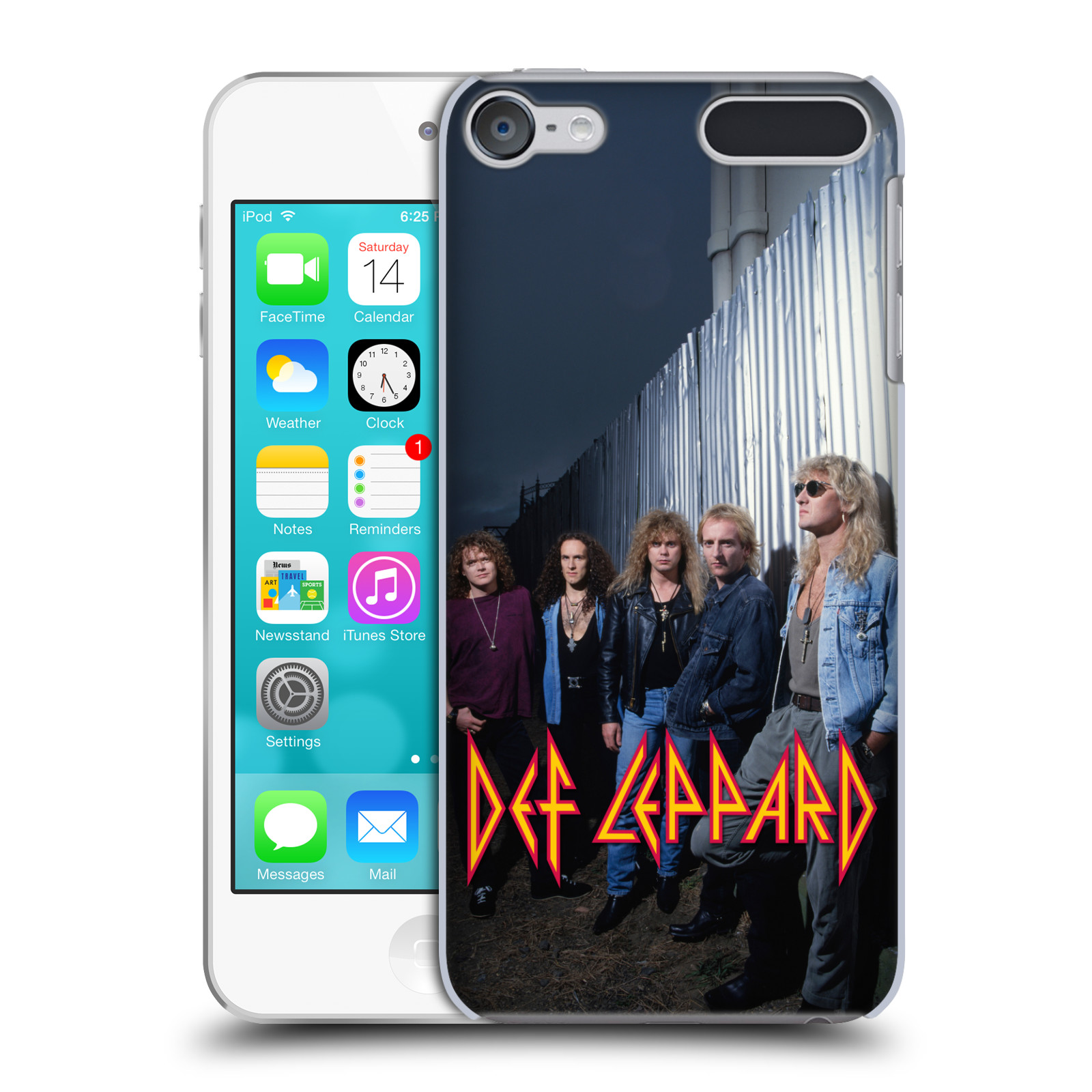 OFFICIAL-DEF-LEPPARD-PHOTOS-HARD-BACK-CASE-FOR-APPLE-iPOD-TOUCH-MP3