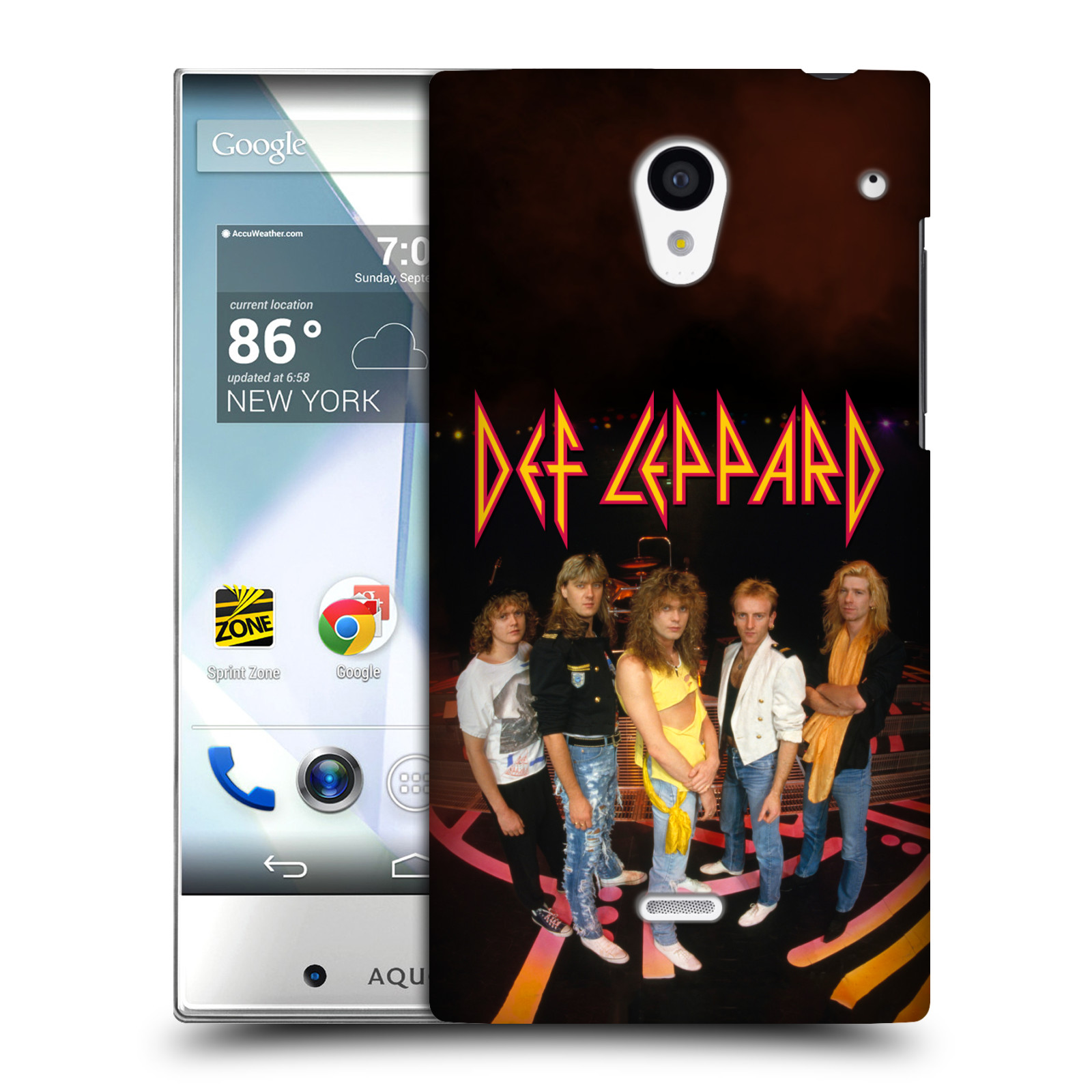 OFFICIAL-DEF-LEPPARD-PHOTOS-HARD-BACK-CASE-FOR-SHARP-PHONES