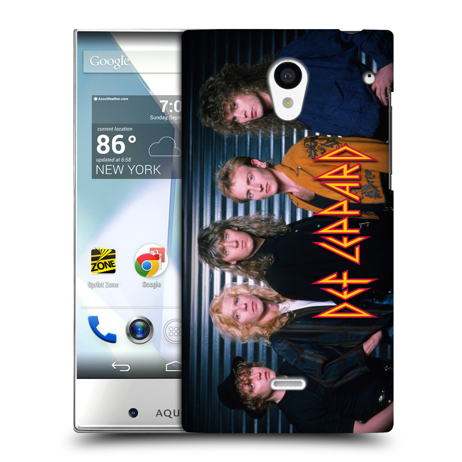 OFFICIAL-DEF-LEPPARD-PHOTOS-HARD-BACK-CASE-FOR-SHARP-PHONES