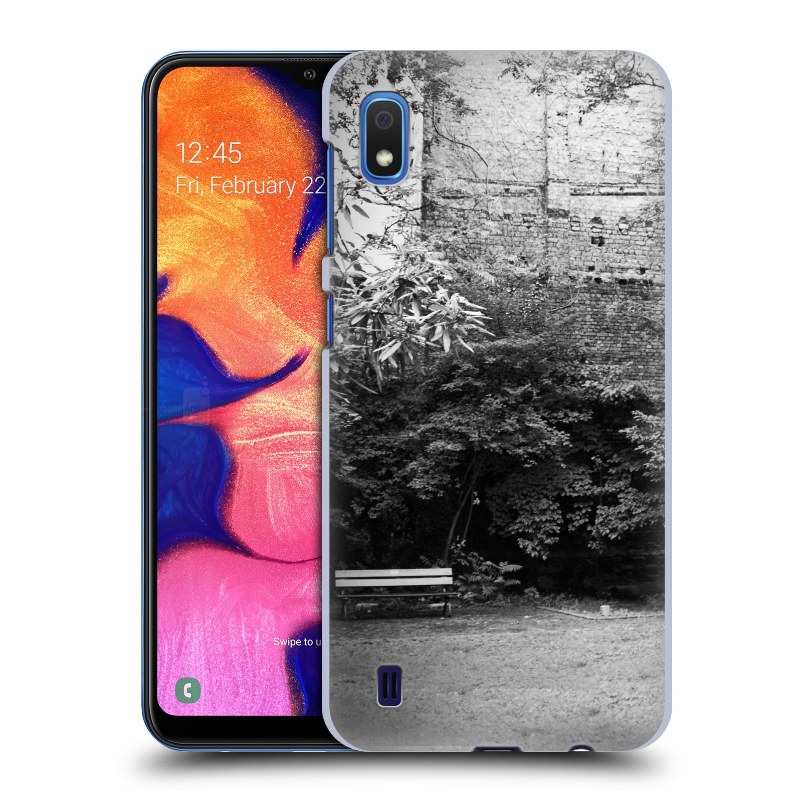Official Dorit Fuhg City Street Life The Courtyard Case for Samsung Galaxy A10 (2019)
