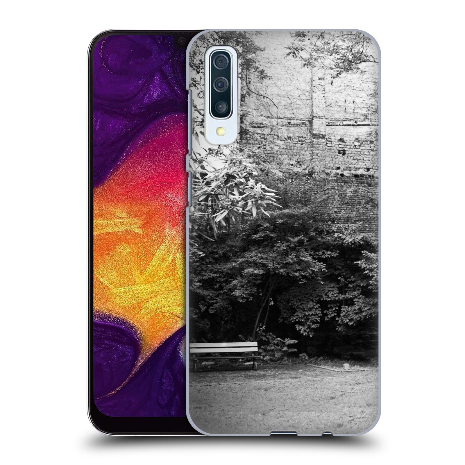 Official Dorit Fuhg City Street Life The Courtyard Case for Samsung Galaxy A50s (2019)