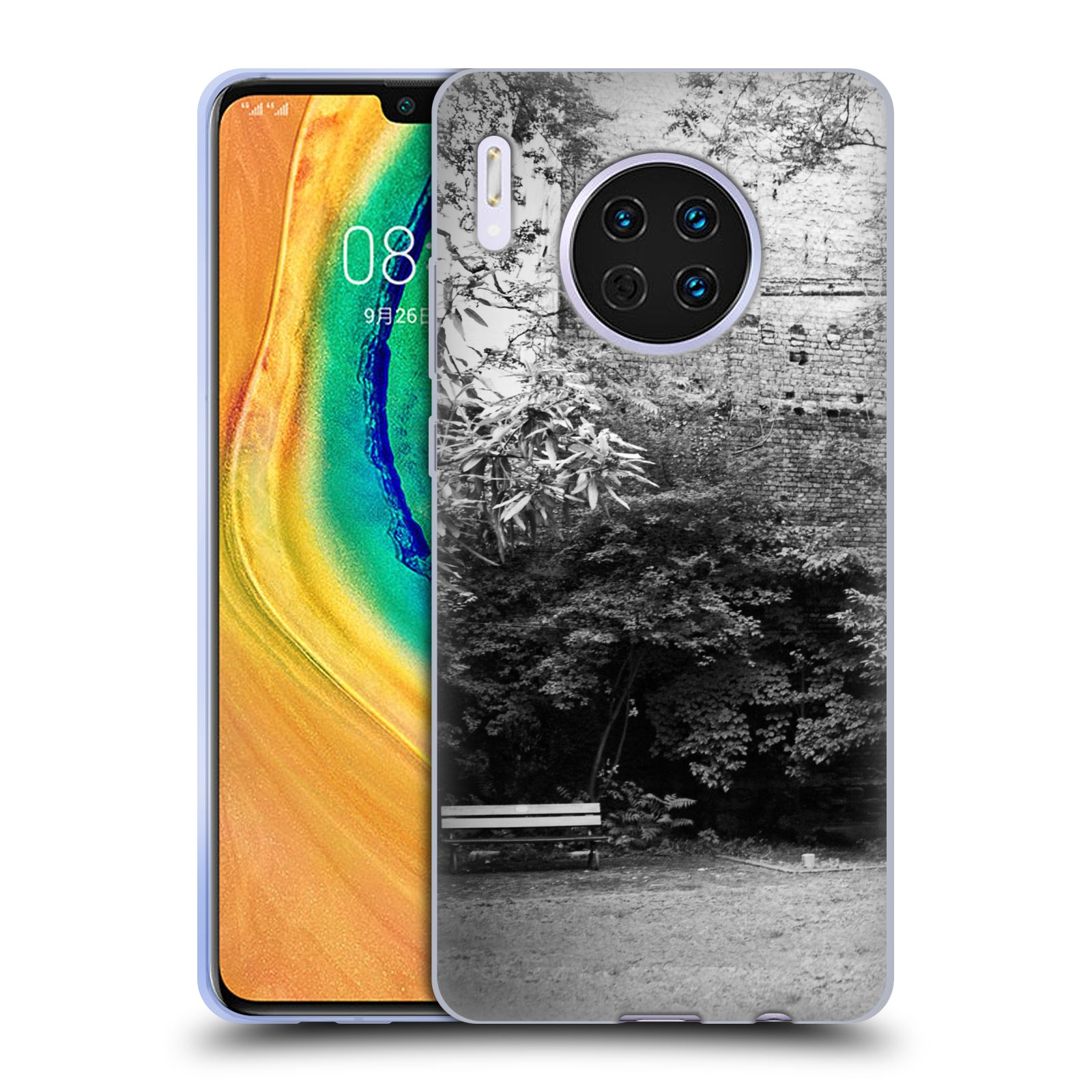 Official Dorit Fuhg City Street Life The Courtyard Case for Huawei Mate 30