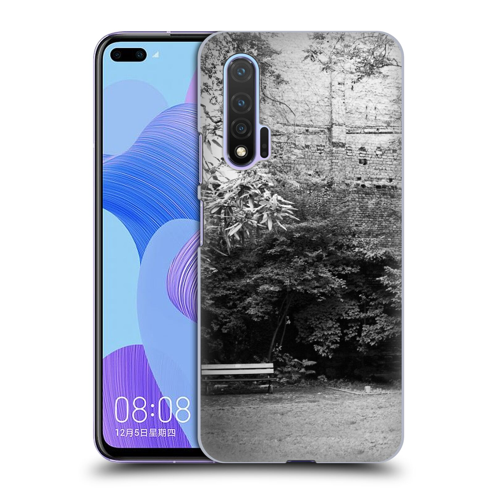 Official Dorit Fuhg City Street Life The Courtyard Case for Huawei Nova 6 5G