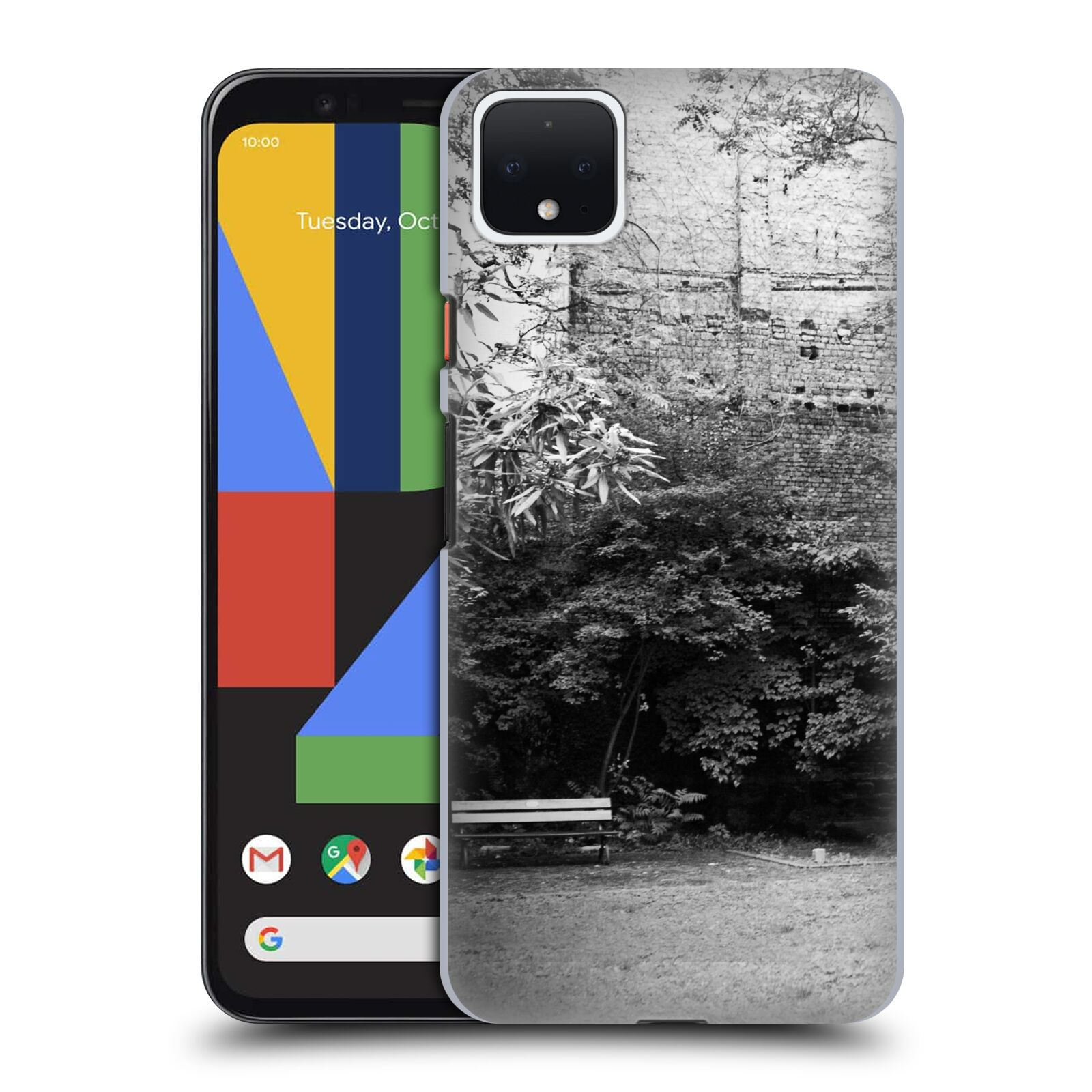 Official Dorit Fuhg City Street Life The Courtyard Case for Google Pixel 4 XL