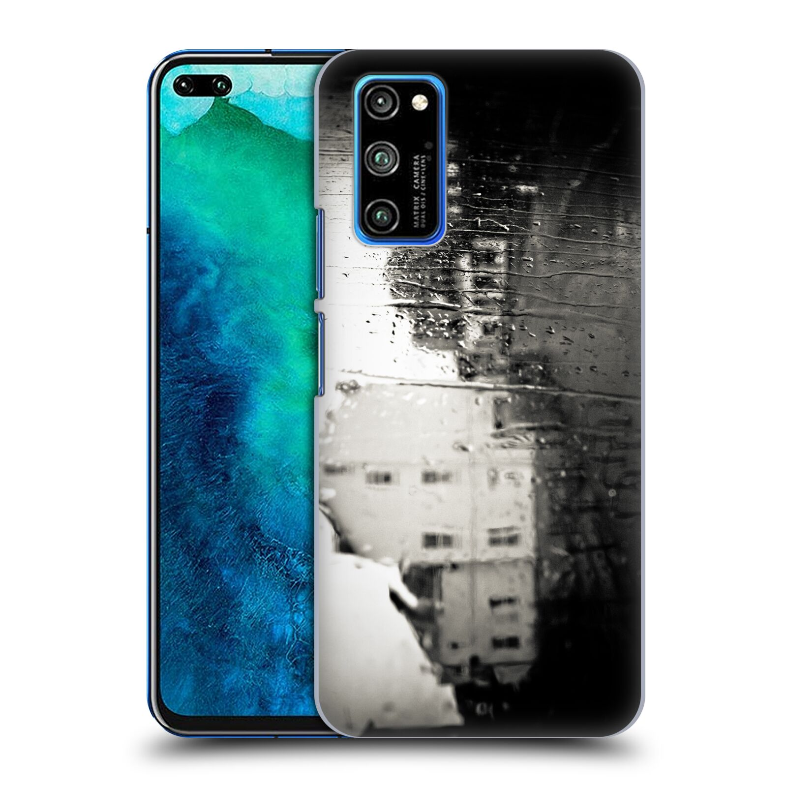 Official Dorit Fuhg City Street Life Proximity Case for Huawei Honor V30 Pro / View 30 Pro