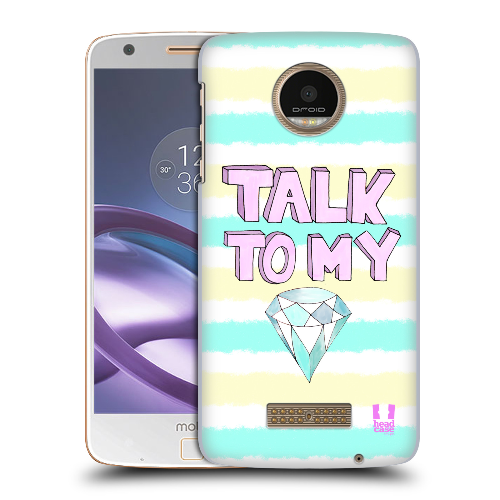 HEAD-CASE-DESIGNS-DIAMOND-GLAM-HARD-BACK-CASE-FOR-MOTOROLA-MOTO-Z-FORCE