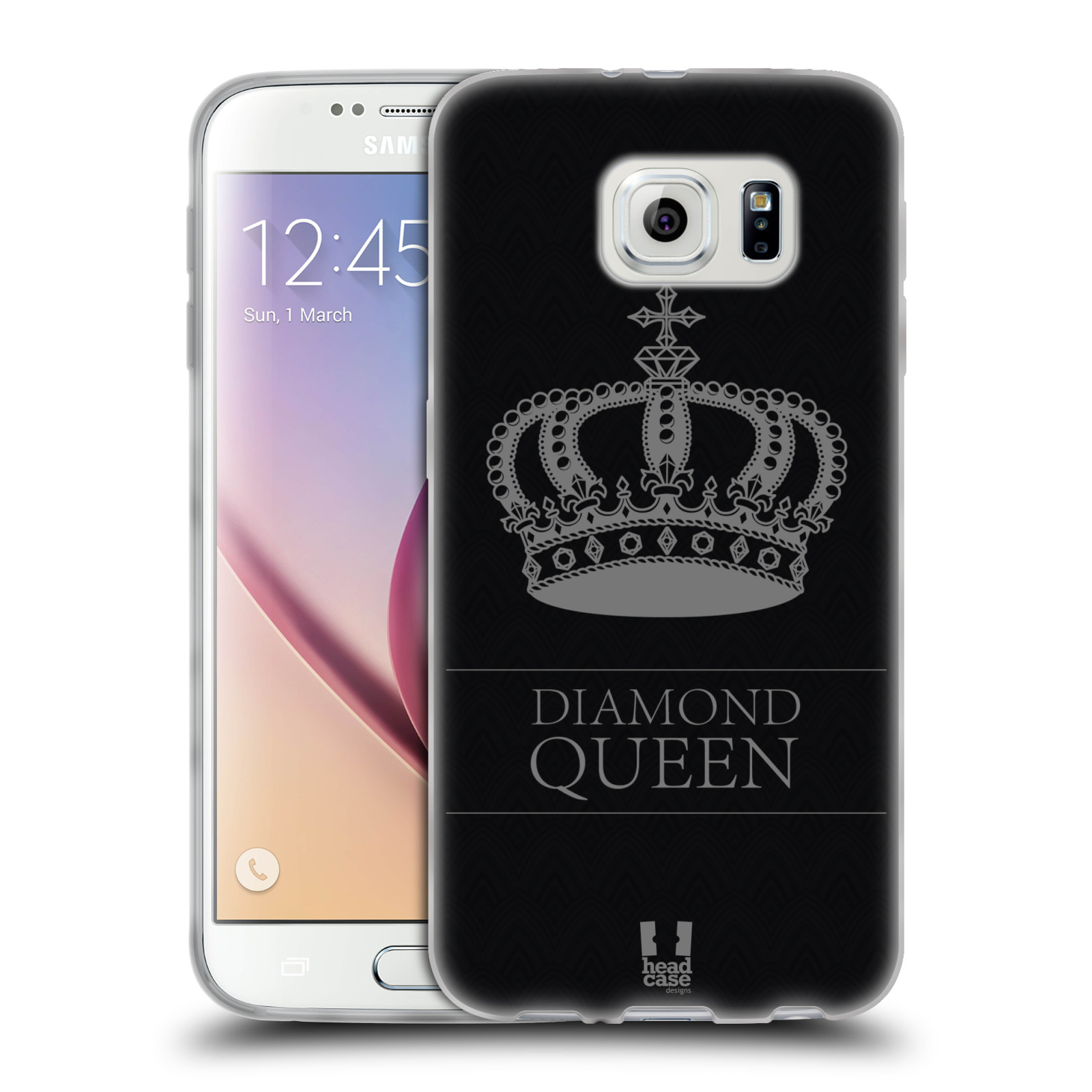 Head case designs diamonds soft gel case for samsung phones 1 for Cell phone cover design ideas