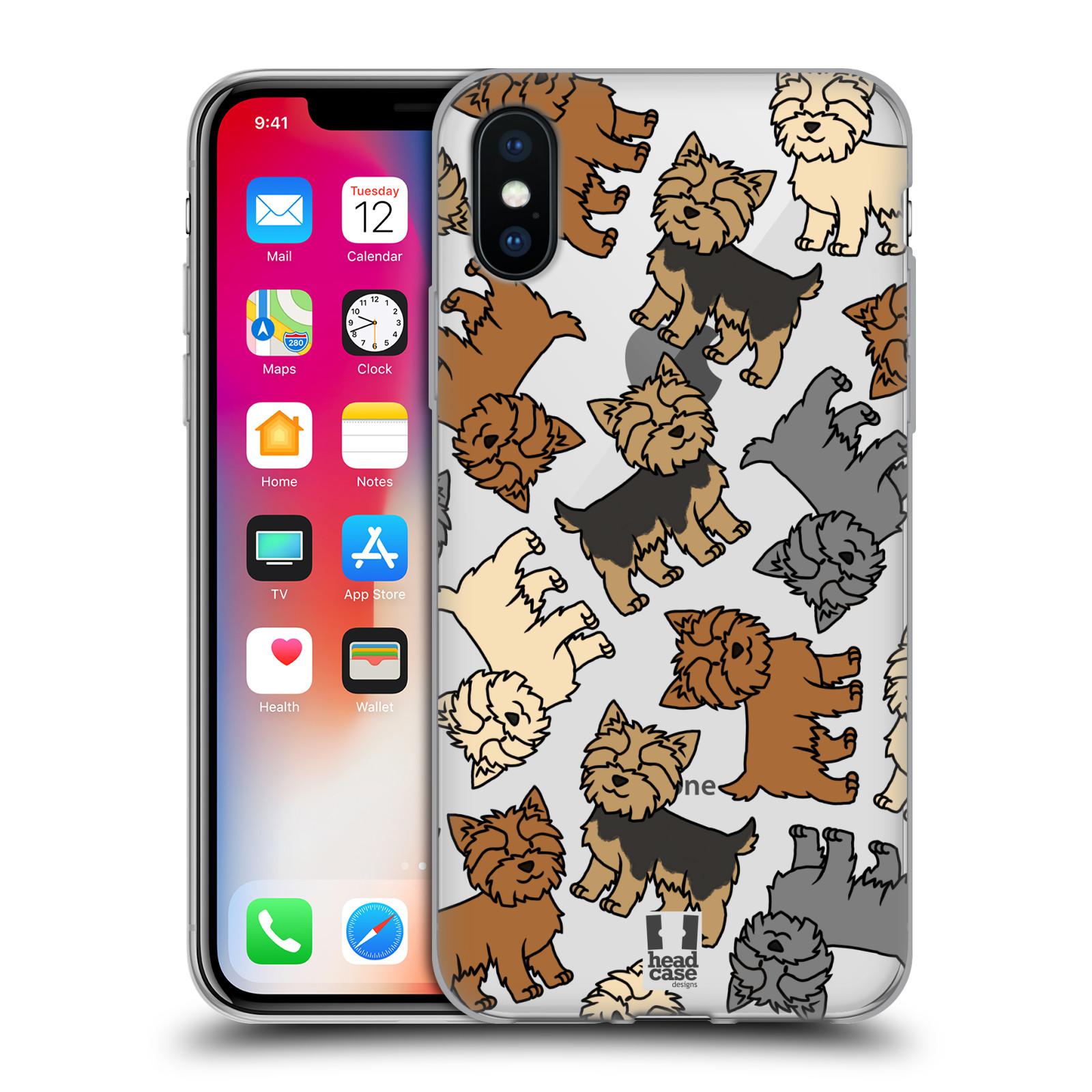 HEAD-CASE-DESIGNS-DOG-BREED-PATTERNS-12-SOFT-GEL-CASE-FOR-APPLE-iPHONE-PHONES