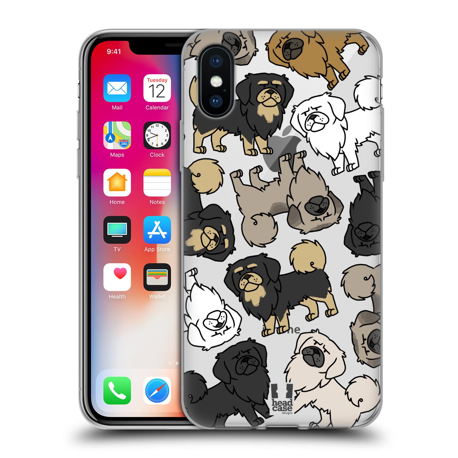Patrones-De-Raza-Perro-Disenos-de-caso-HEAD-13-Estuche-De-Gel-Suave-para-TELEFONOS-APPLE-iPHONE