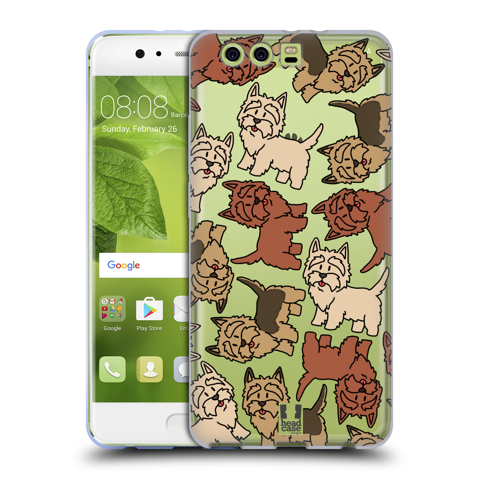 HEAD-CASE-DESIGNS-DOG-BREED-PATTERNS-14-SOFT-GEL-CASE-FOR-HUAWEI-PHONES