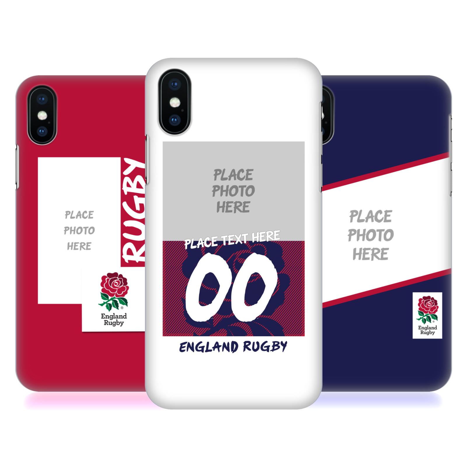 Custom Customised Personalised England Rugby Union 2016/17