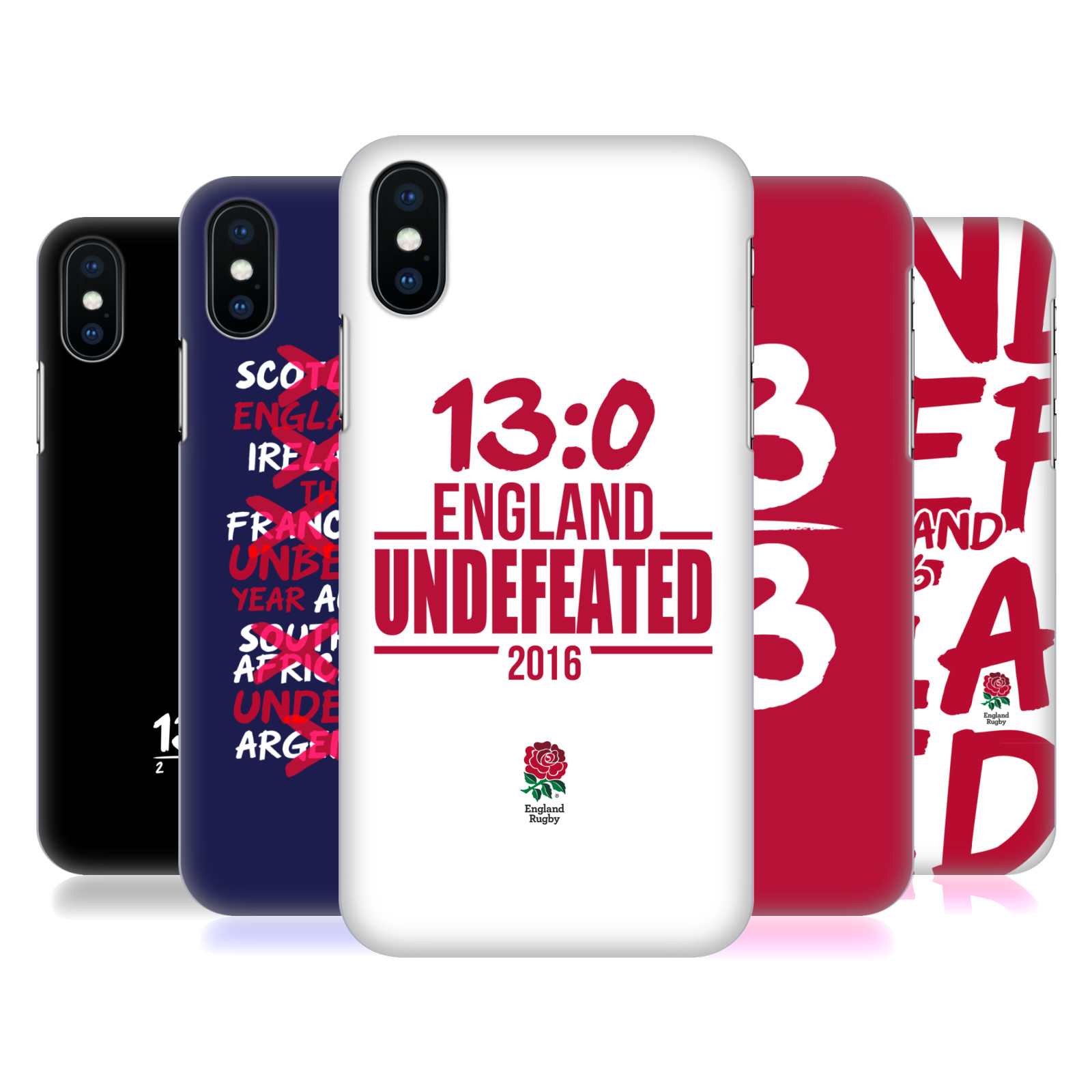 England Rugby Union 2016 Unbeaten