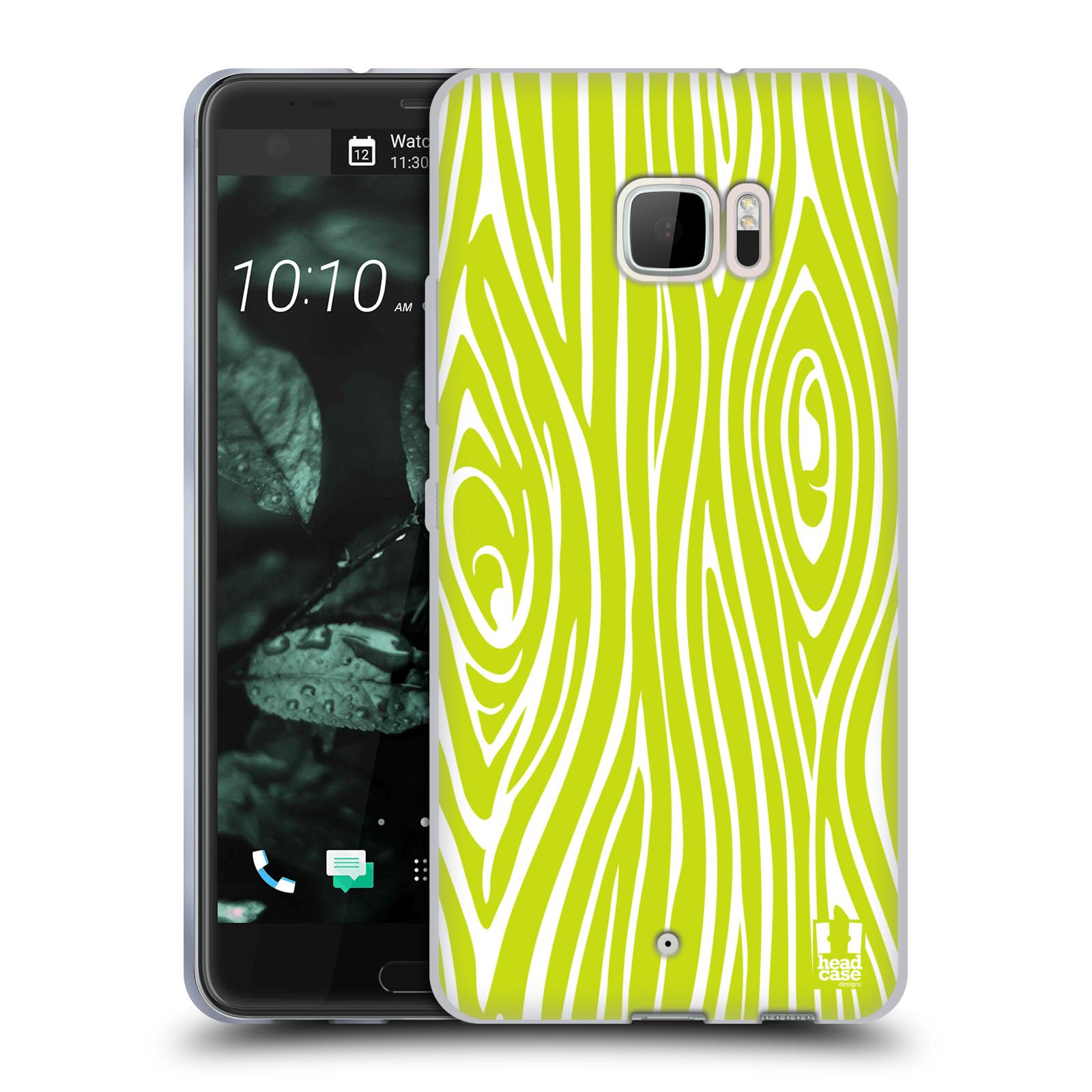 HEAD-CASE-DESIGNS-FAUX-BOIS-COVER-MORBIDA-IN-GEL-PER-HTC-U-ULTRA