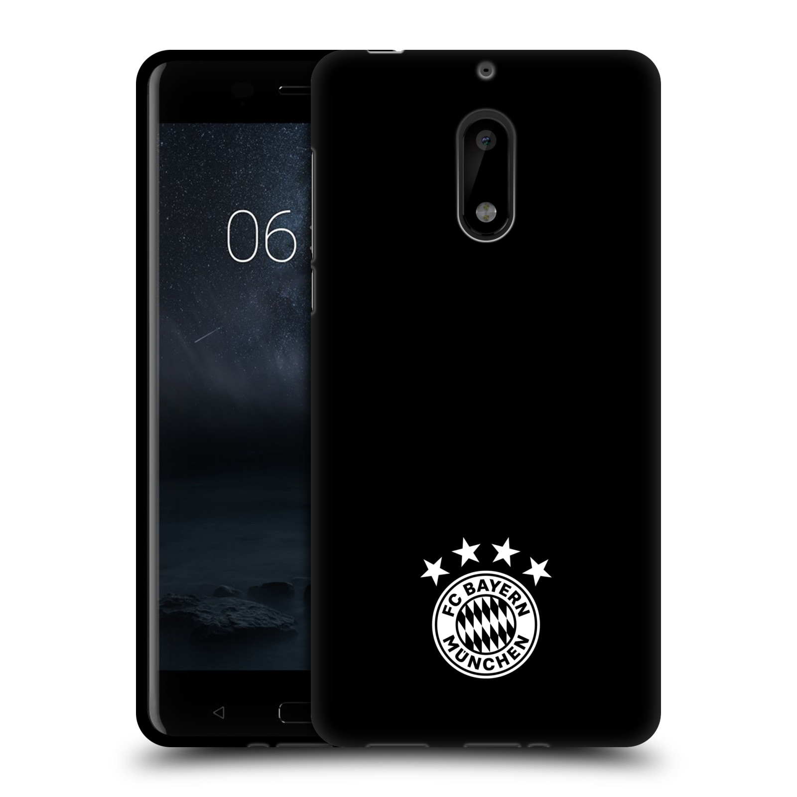 OFFICIAL-FC-BAYERN-MUNICH-2017-18-LOGO-BLACK-GEL-CASE-FOR-MICROSOFT-NOKIA-PHONES