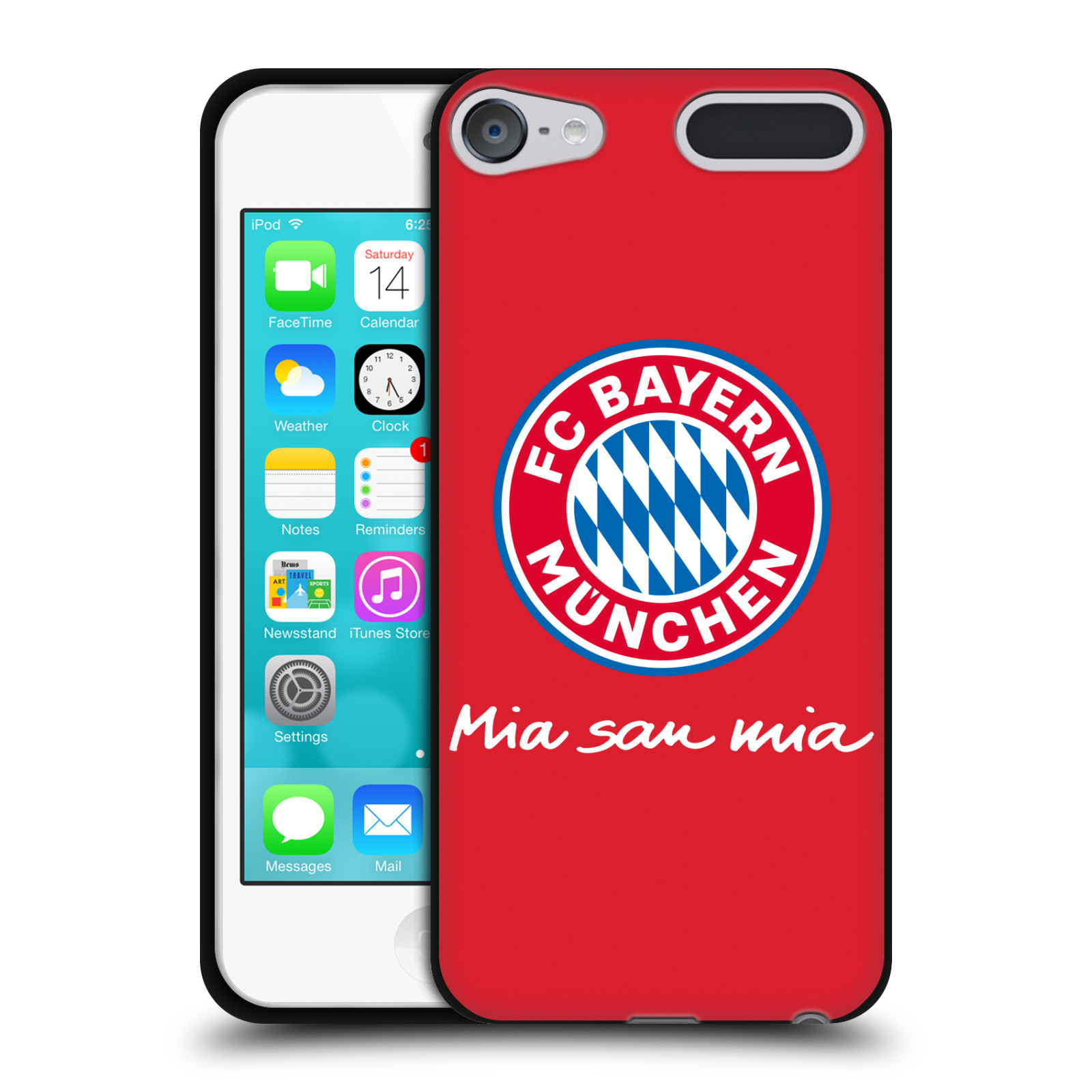 OFFICIAL-FC-BAYERN-MUNICH-2017-18-LOGO-BLACK-SOFT-GEL-CASE-FOR-APPLE-iPOD-TOUCH