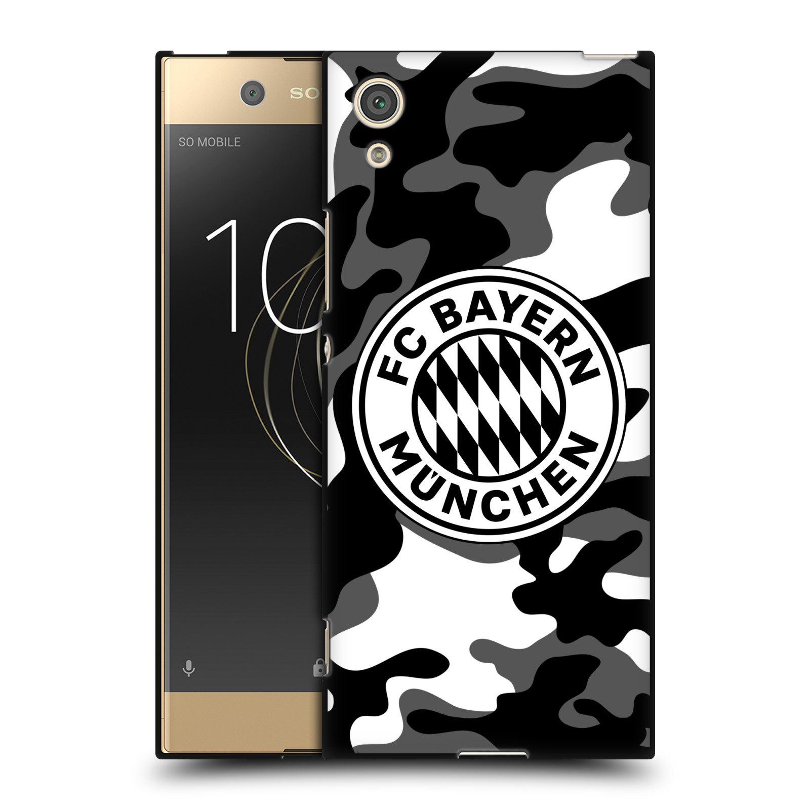 OFFICIAL-FC-BAYERN-MUNICH-2017-18-PATTERNS-BLACK-SOFT-GEL-CASE-FOR-SONY-PHONES