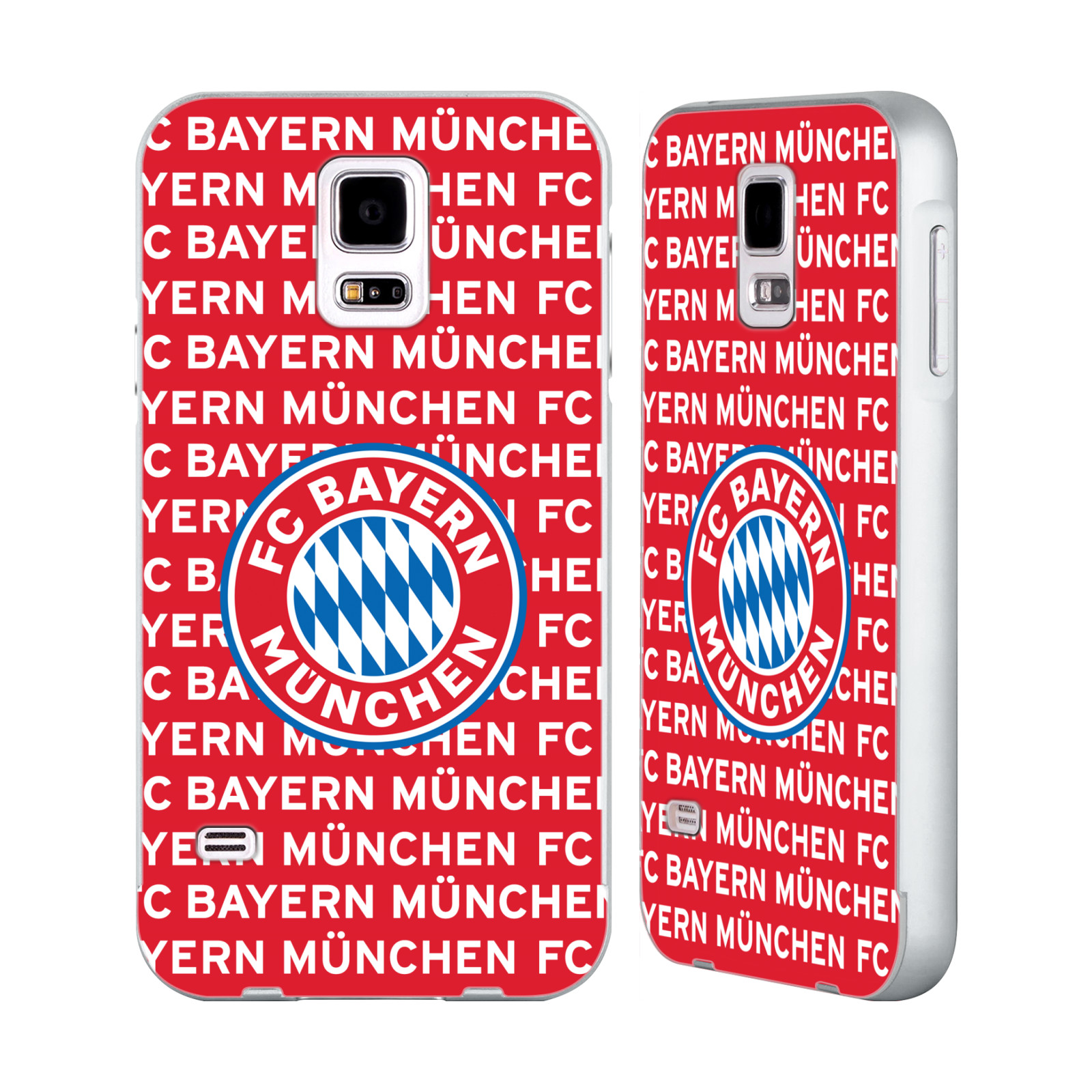 FC-BAYERN-MUNICH-2017-18-MUSTER-SILBER-RAHMEN-HULLE-FUR-SAMSUNG-HANDYS