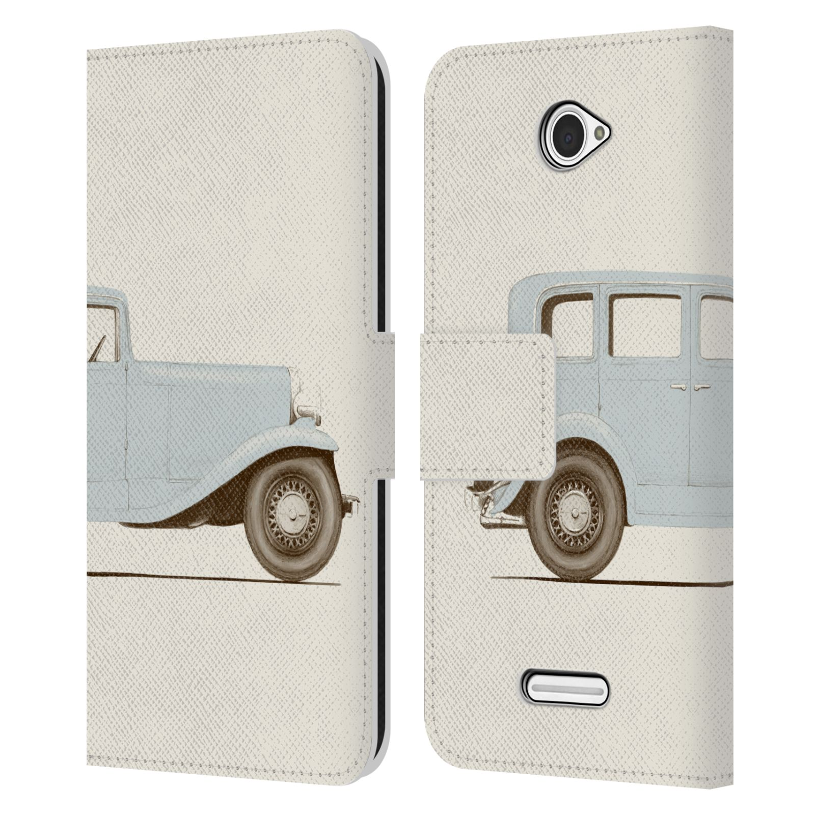 OFFICIAL-FLORENT-BODART-WHEELS-LEATHER-BOOK-WALLET-CASE-COVER-FOR-SONY-PHONES-2