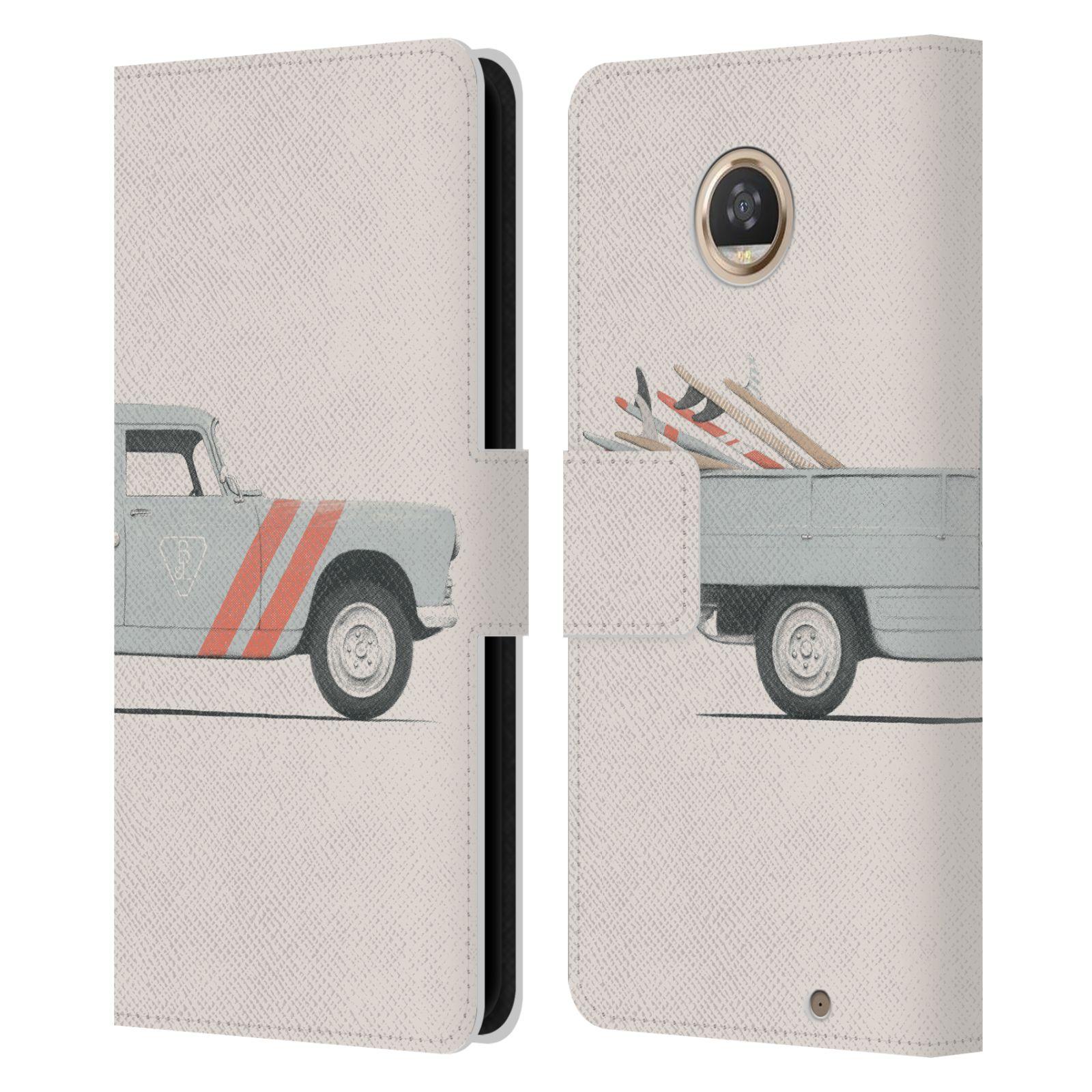 Libro-de-cuero-oficial-Florent-Bodart-ruedas-Billetera-Estuche-para-telefonos-Motorola