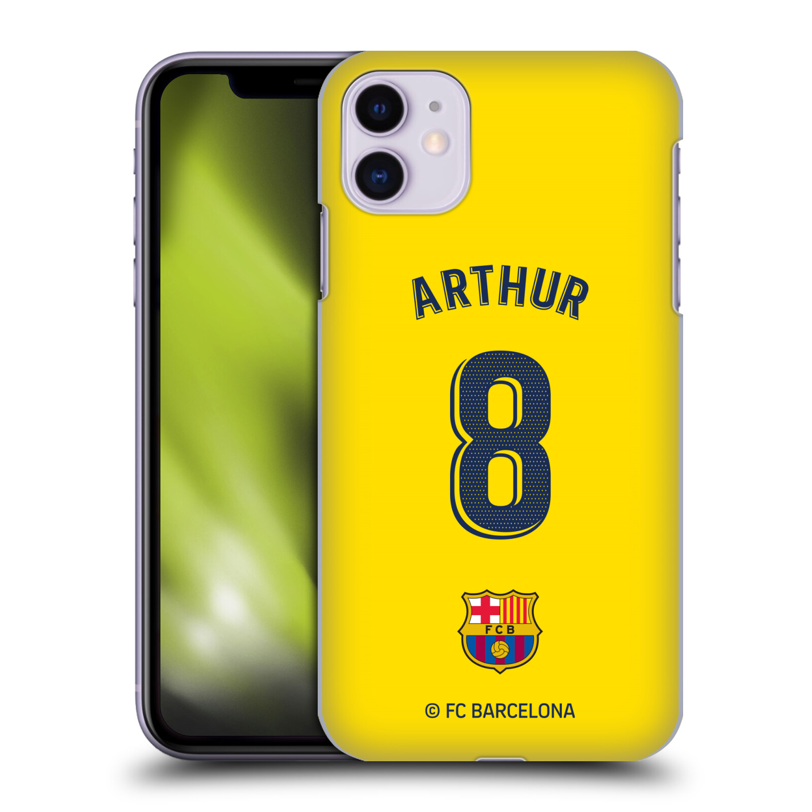 Official FC Barcelona 2019/20 Players Away Kit Group 1 Arthur Melo Case for Apple iPhone 11