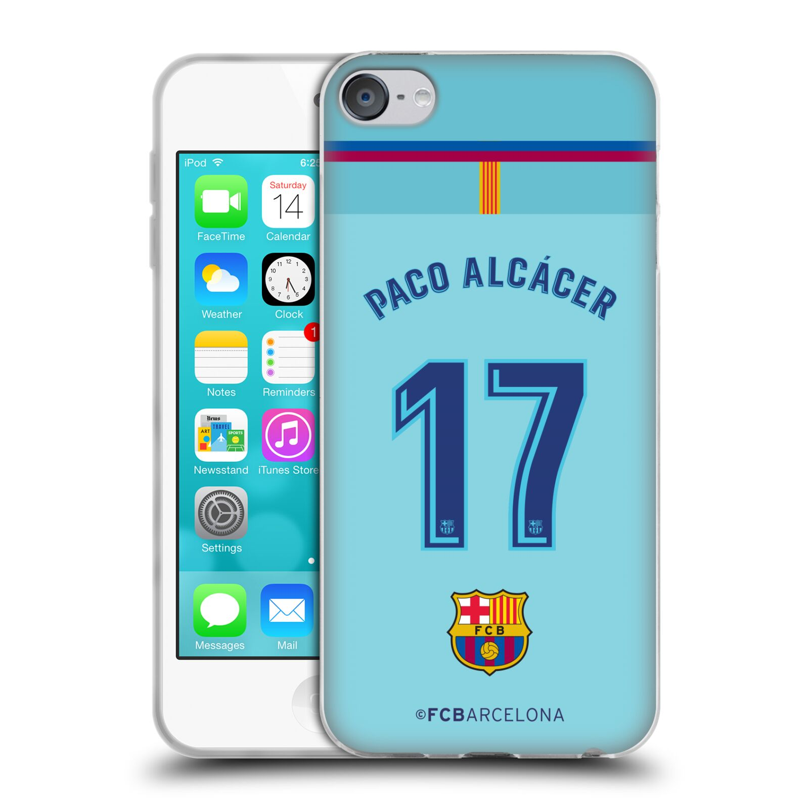 Oficial-FC-Barcelona-2017-18-Away-Kit-1-Gel-Suave-Estuche-Para-Apple-iPod-Touch-MP3