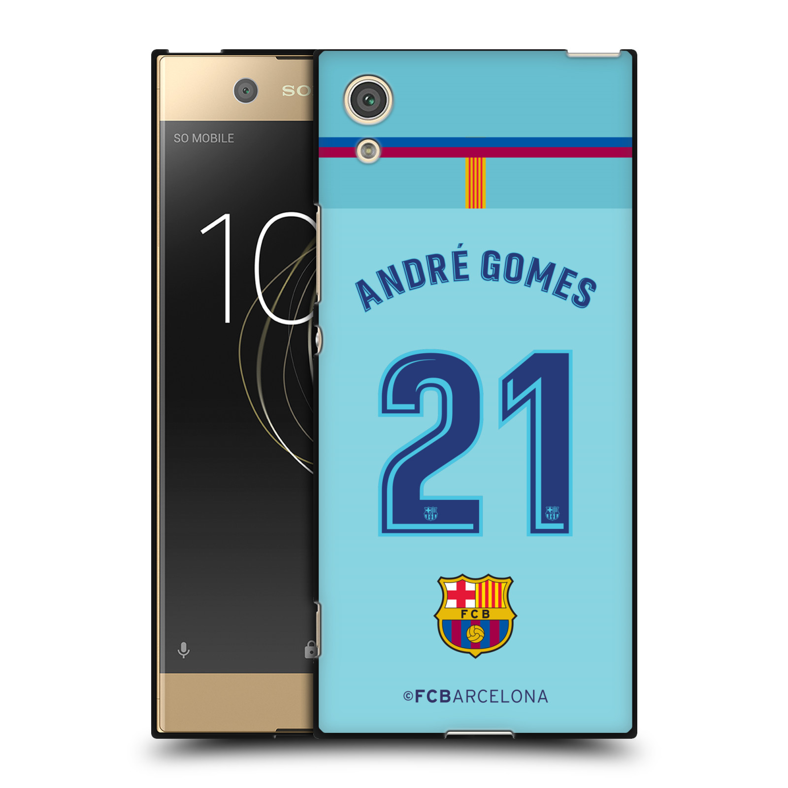 OFFICIAL-FC-BARCELONA-2017-18-PLAYERS-AWAY-KIT-1-BLACK-GEL-CASE-FOR-SONY-PHONES