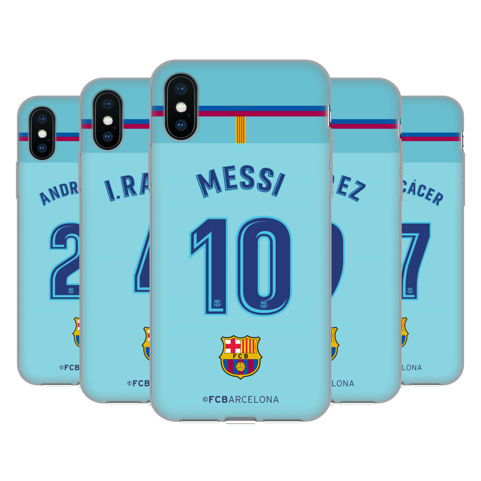 FC Barcelona 2017/18 Players Away Kit Group 1