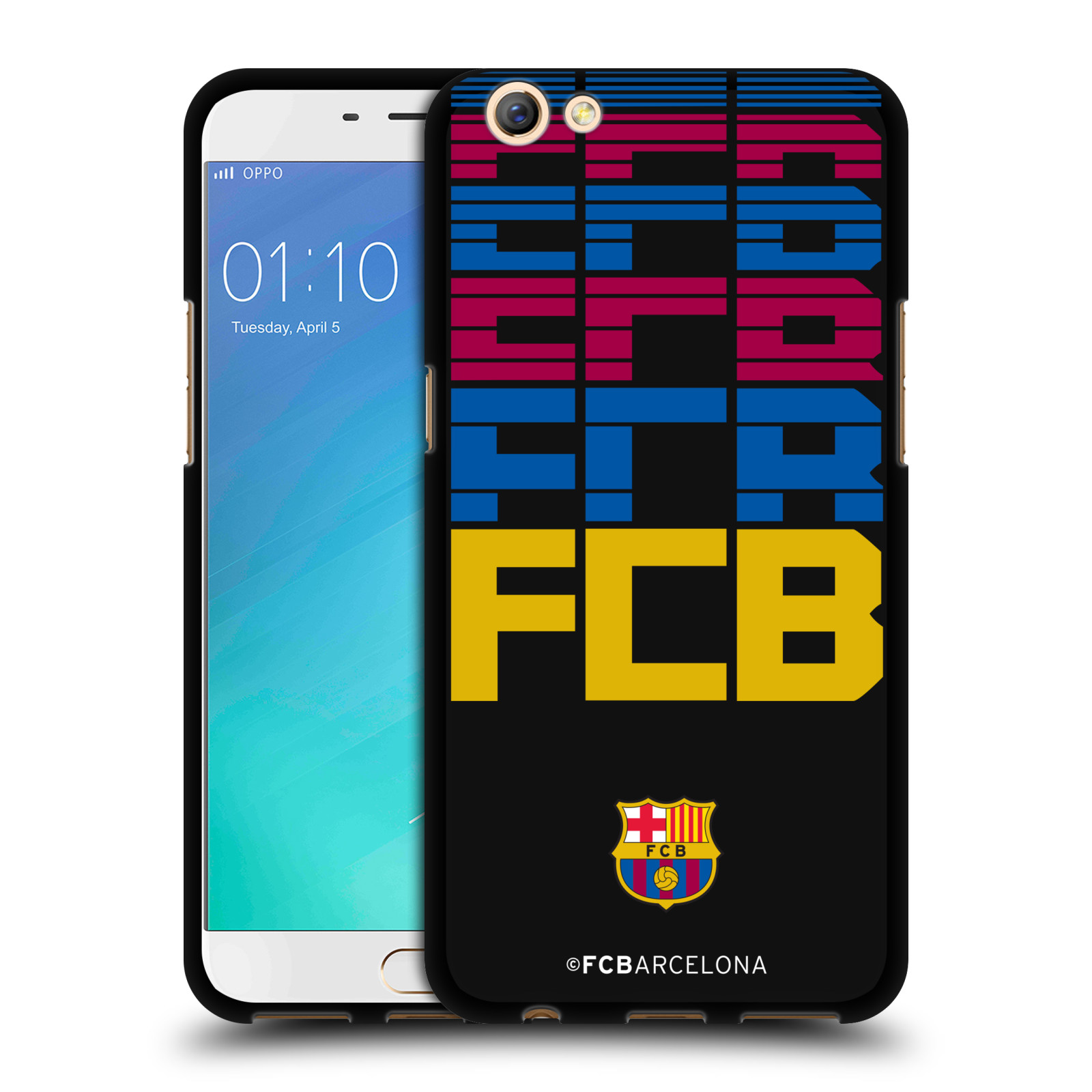 OFFICIAL-FC-BARCELONA-2017-18-CAMPIONS-BLACK-SOFT-GEL-CASE-FOR-OPPO-PHONES