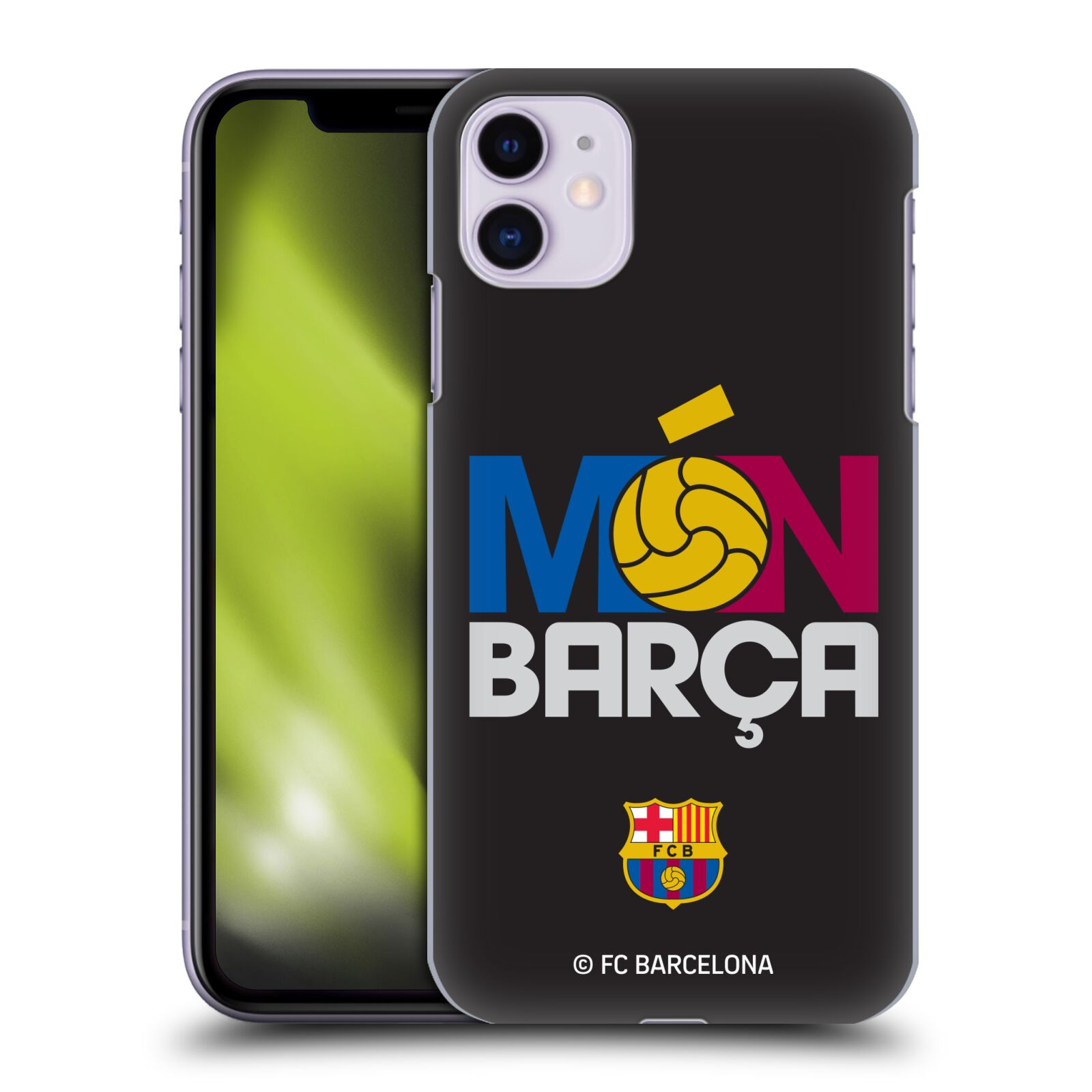 Official FC Barcelona 2017/18 Campions Mon Barca Case for Apple iPhone 11