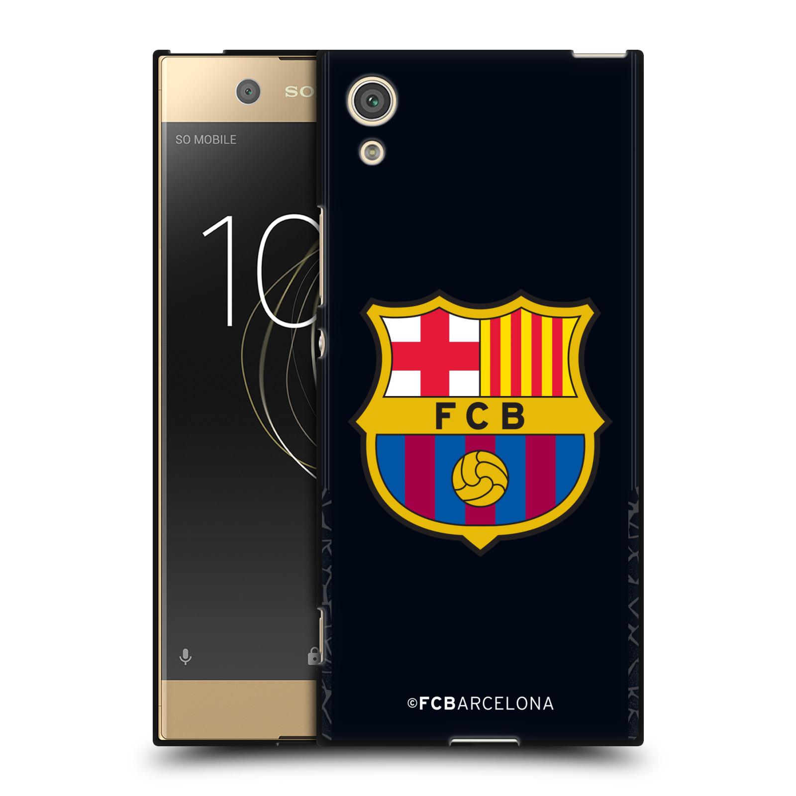 OFFICIAL-FC-BARCELONA-2017-18-CREST-KIT-BLACK-SOFT-GEL-CASE-FOR-SONY-PHONES