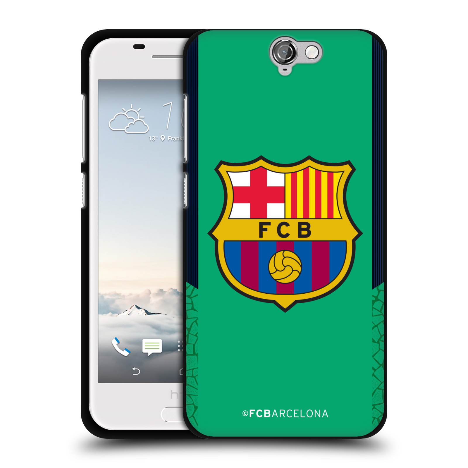 OFFICIAL-FC-BARCELONA-2017-18-CREST-KIT-BLACK-SOFT-GEL-CASE-FOR-HTC-PHONES