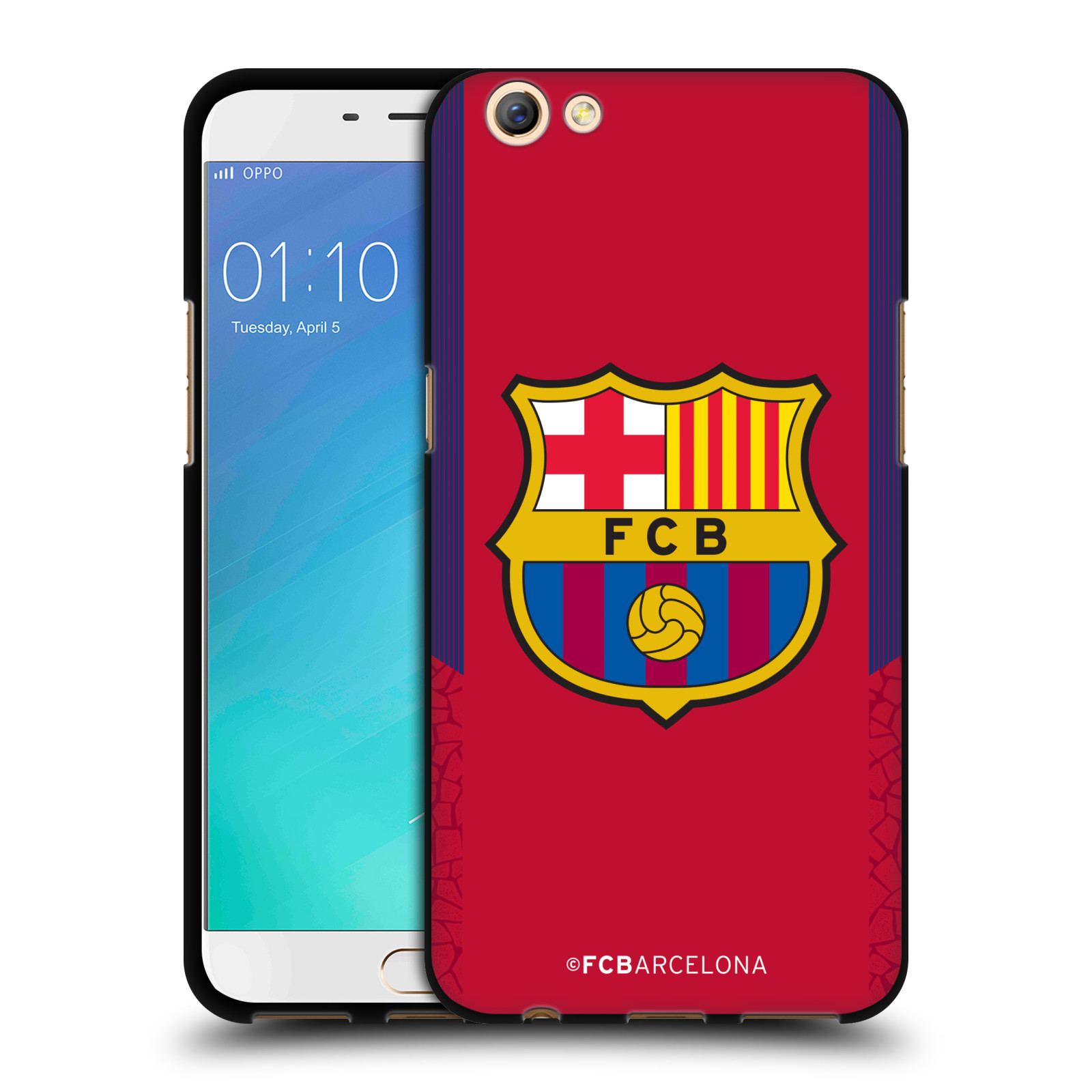 OFFICIAL-FC-BARCELONA-2017-18-CREST-KIT-BLACK-SOFT-GEL-CASE-FOR-OPPO-PHONES