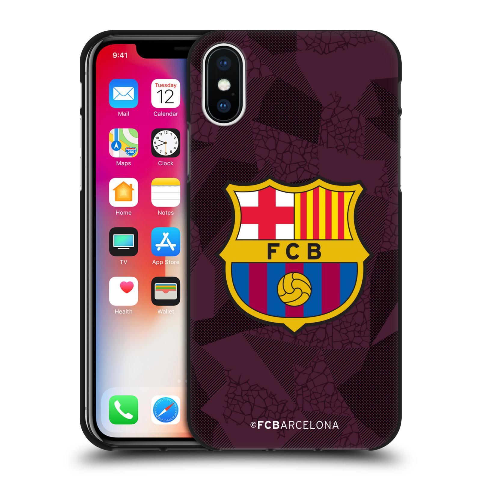 OFFICIAL-FC-BARCELONA-2017-18-CREST-KIT-BLACK-GEL-CASE-FOR-APPLE-iPHONE-PHONES