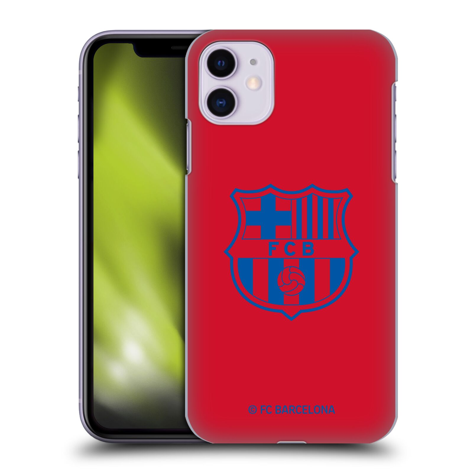 Official FC Barcelona 2019/20 Crest Patterns Red Case for Apple iPhone 11