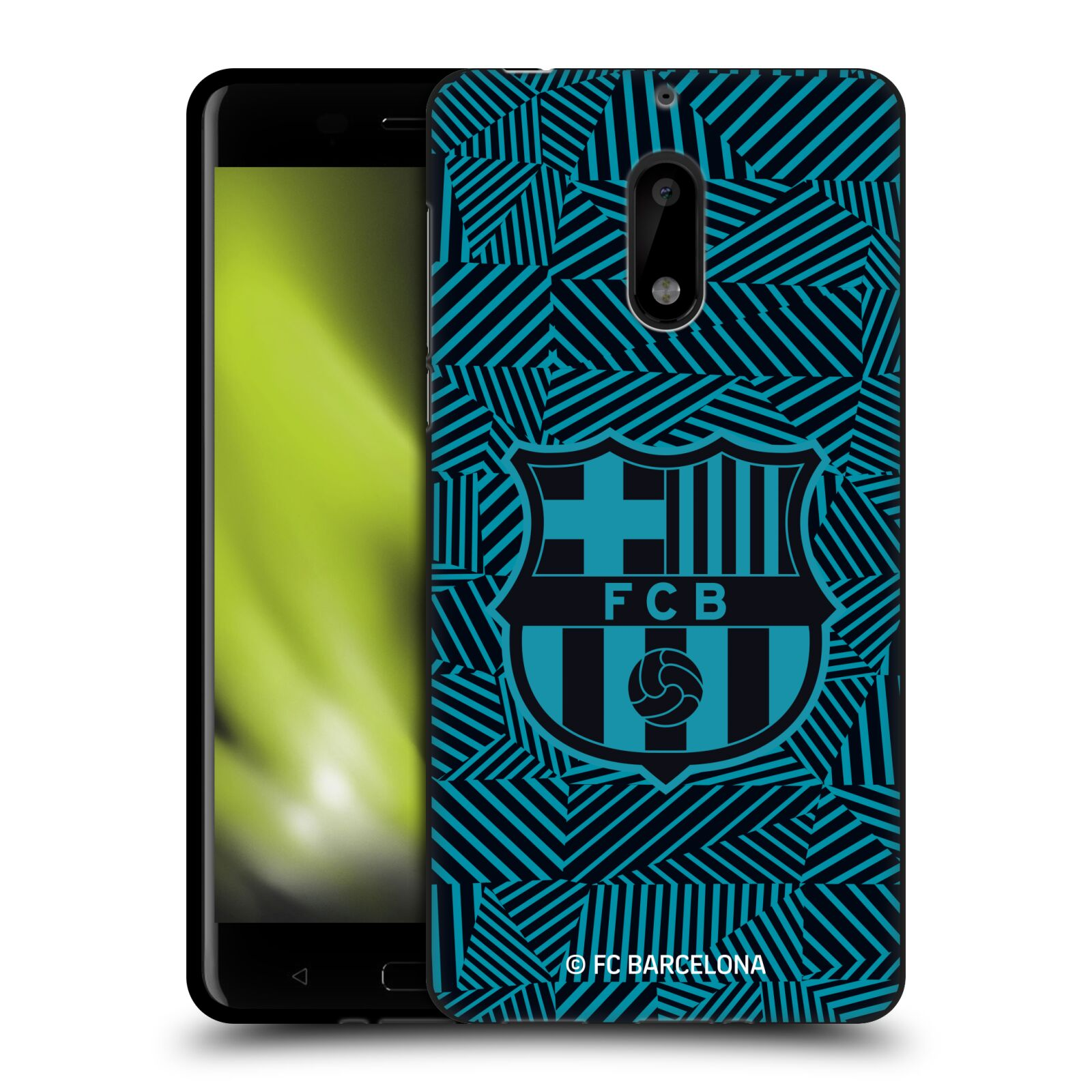 OFFICIAL-FC-BARCELONA-2017-18-CREST-BLACK-GEL-CASE-FOR-MICROSOFT-NOKIA-PHONES