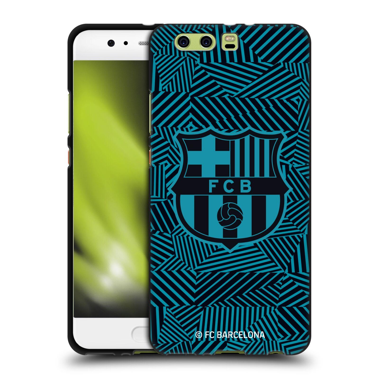 OFFICIAL-FC-BARCELONA-2017-18-CREST-BLACK-SOFT-GEL-CASE-FOR-HUAWEI-PHONES