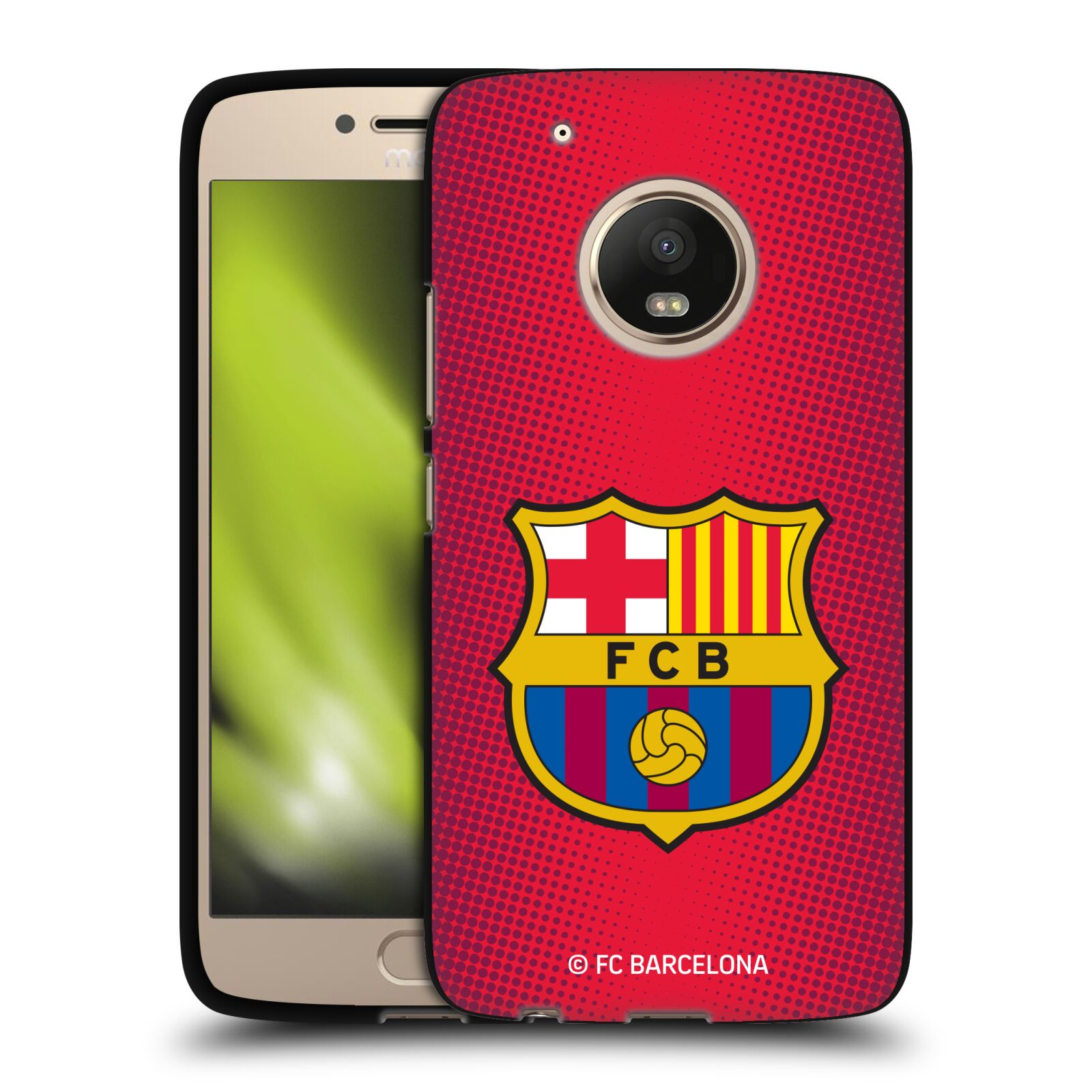 OFFICIAL-FC-BARCELONA-2017-18-CREST-BLACK-SOFT-GEL-CASE-FOR-MOTOROLA-PHONES