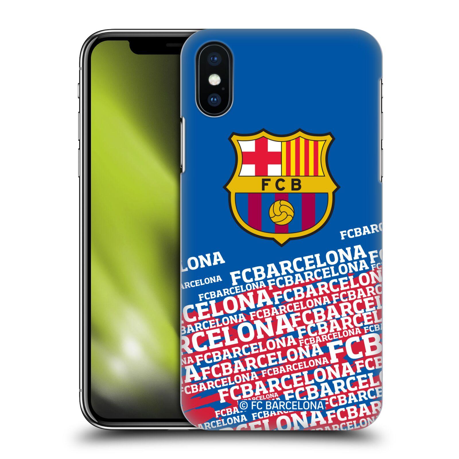 Official Fc Barcelona Crest Hard Back Case For Apple Iphone Phones Ebay