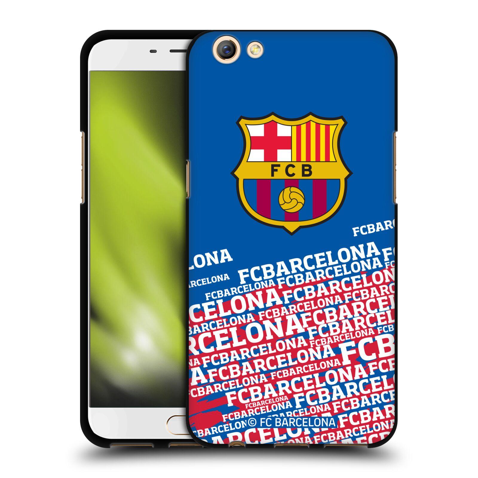 OFFICIAL-FC-BARCELONA-2017-18-CREST-BLACK-SOFT-GEL-CASE-FOR-OPPO-PHONES