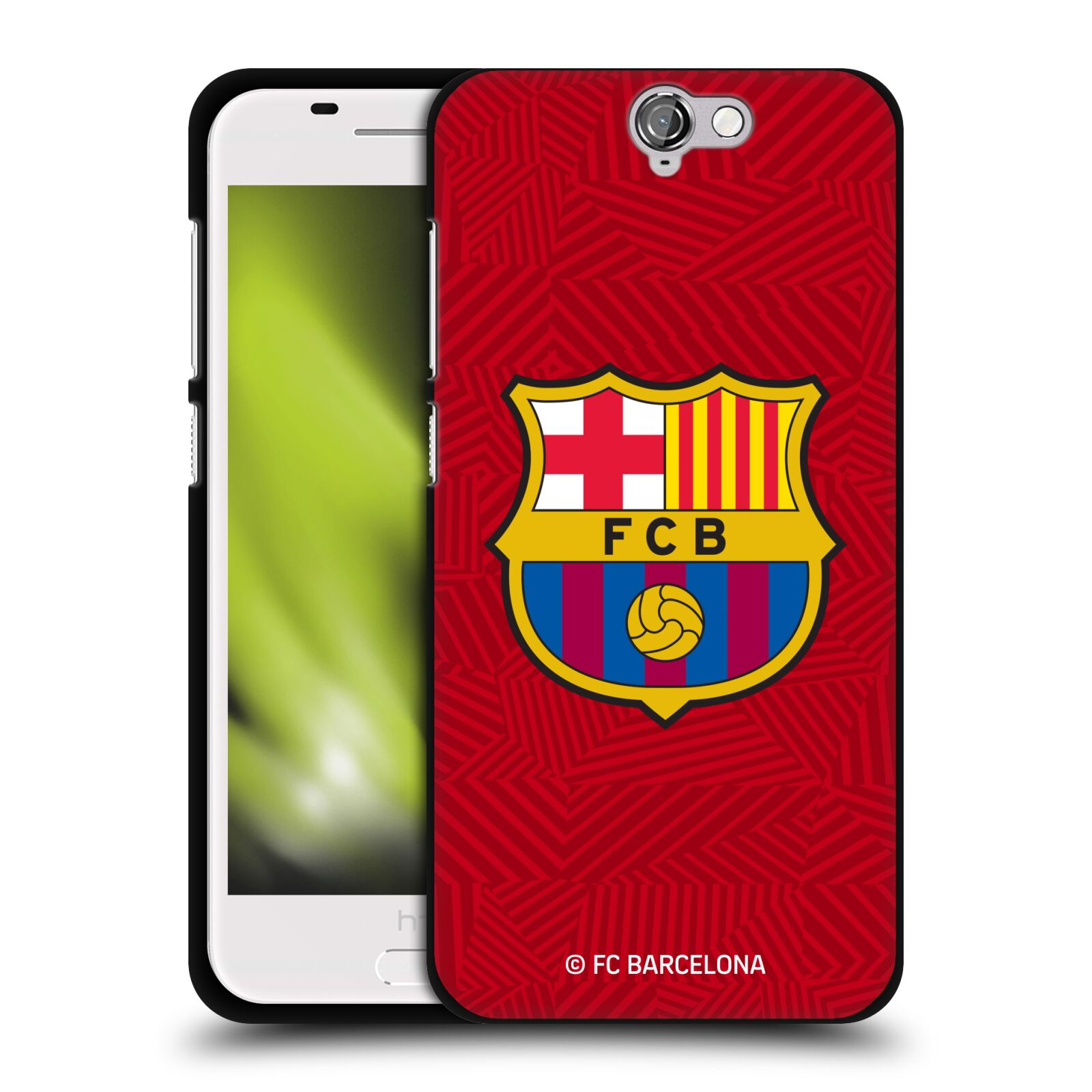 OFFICIAL-FC-BARCELONA-2017-18-CREST-BLACK-SOFT-GEL-CASE-FOR-HTC-PHONES