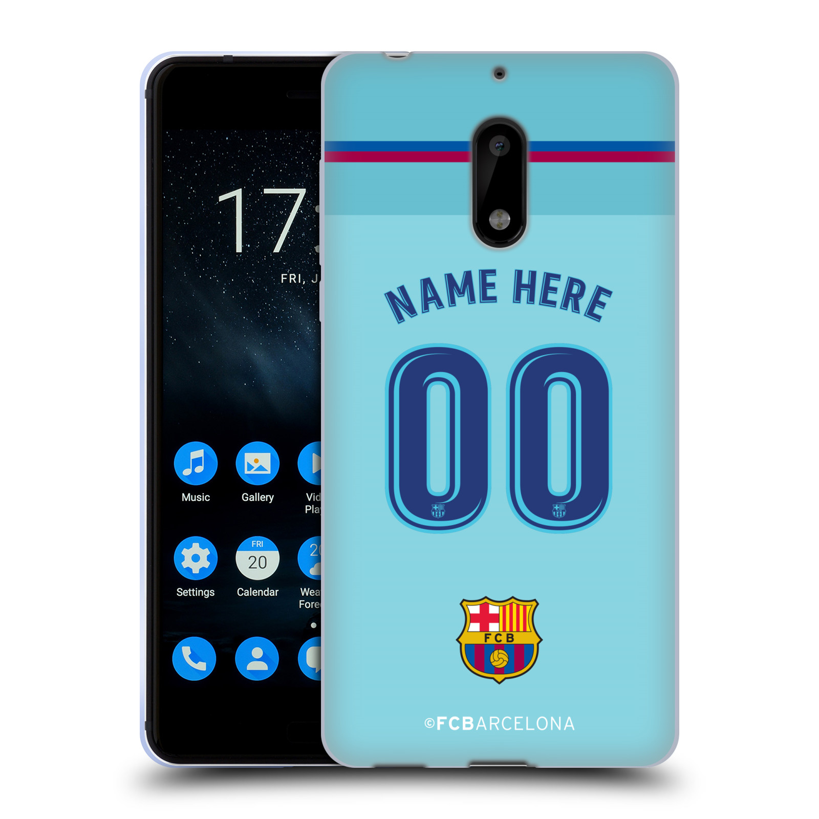 Personalizado-personalizado-FC-Barcelona-2017-18-Kit-De-Estuche-De-Gel-Suave-Para-Telefonos-NOKIA-1