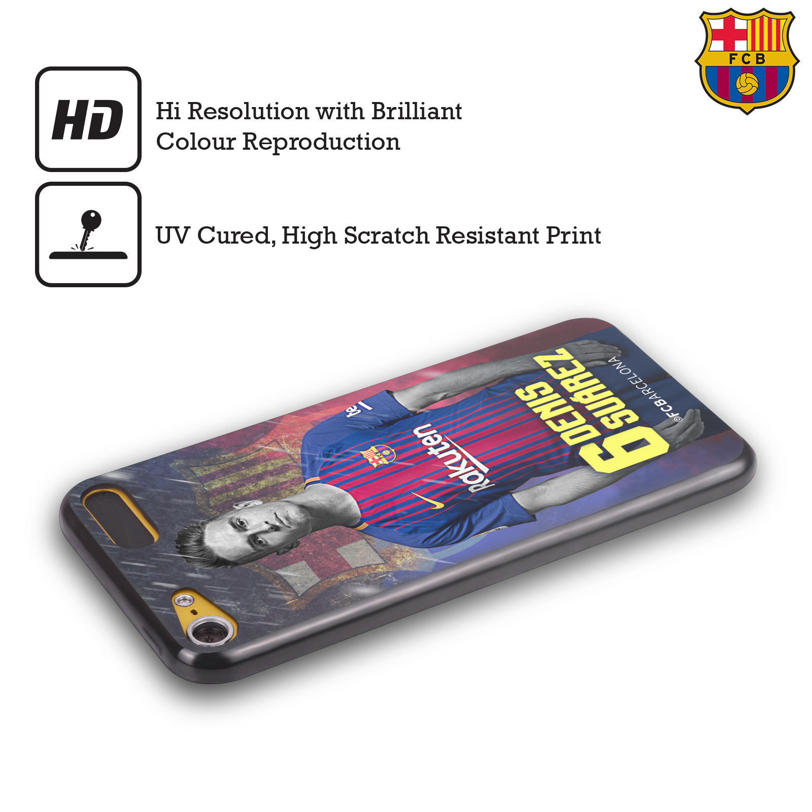 OFFICIAL-FC-BARCELONA-2017-18-FIRST-TEAM-1-BLACK-GEL-CASE-FOR-APPLE-iPOD-TOUCH