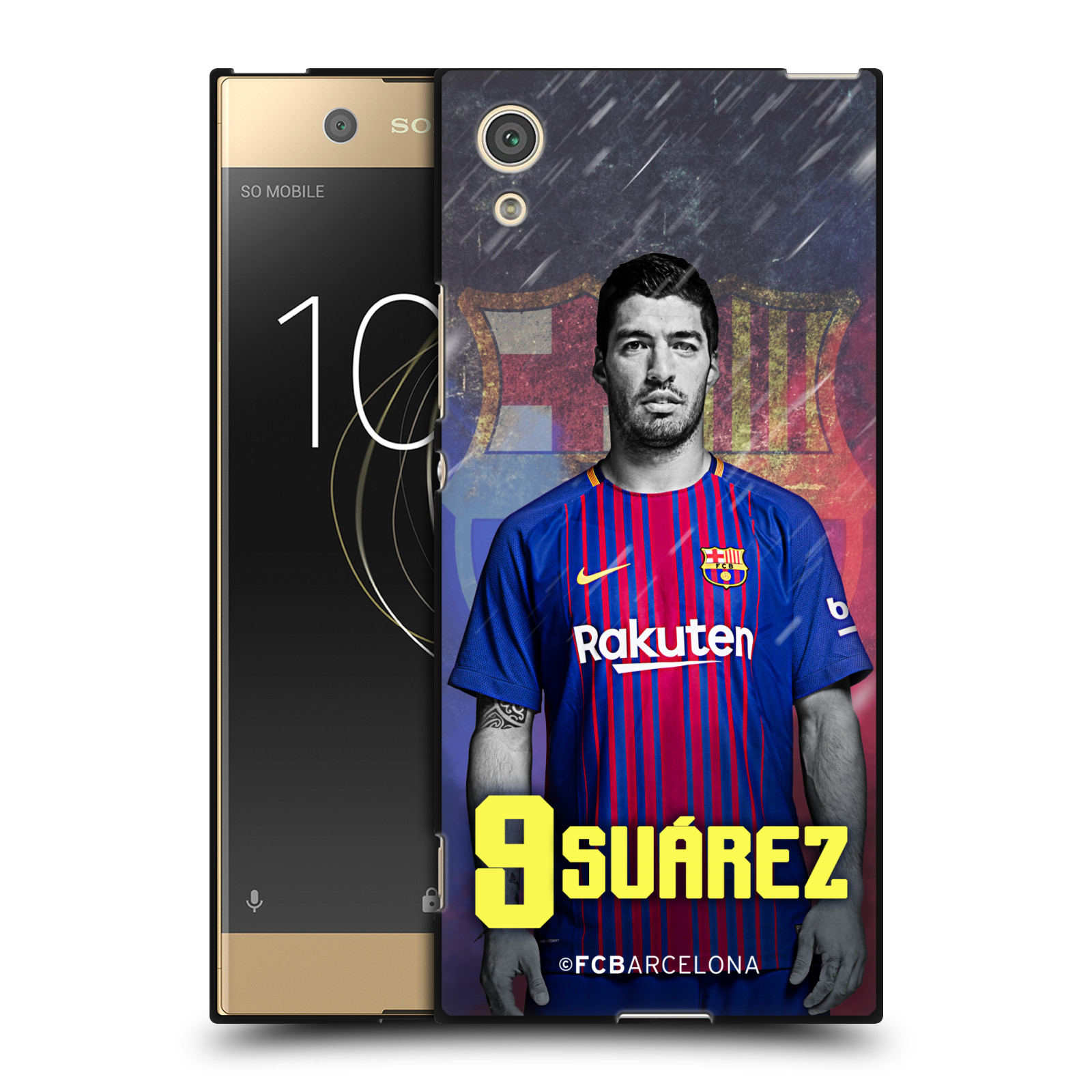 OFFICIAL-FC-BARCELONA-2017-18-FIRST-TEAM-GROUP-1-BLACK-GEL-CASE-FOR-SONY-PHONES