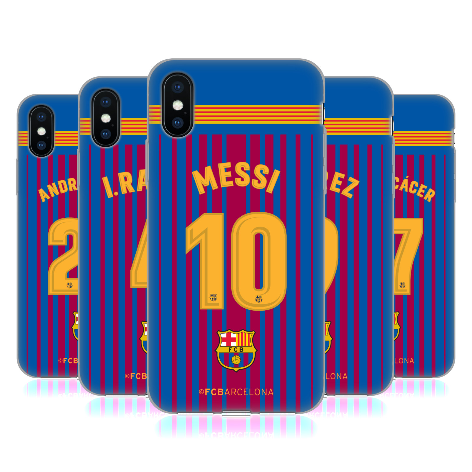FC Barcelona 2017/18 Players Home Kit Group 1