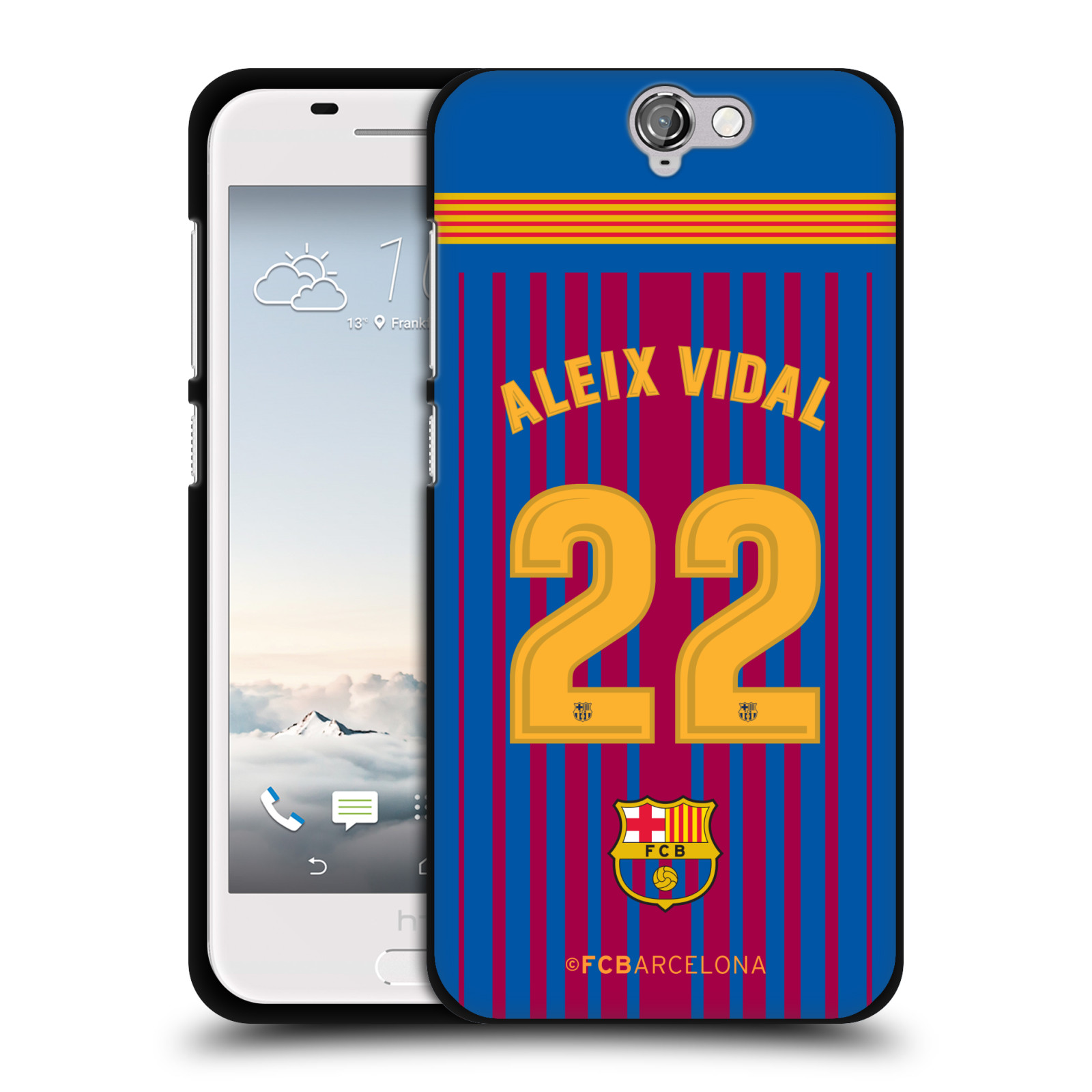OFFICIAL-FC-BARCELONA-2017-18-PLAYERS-HOME-KIT-1-BLACK-GEL-CASE-FOR-HTC-PHONES
