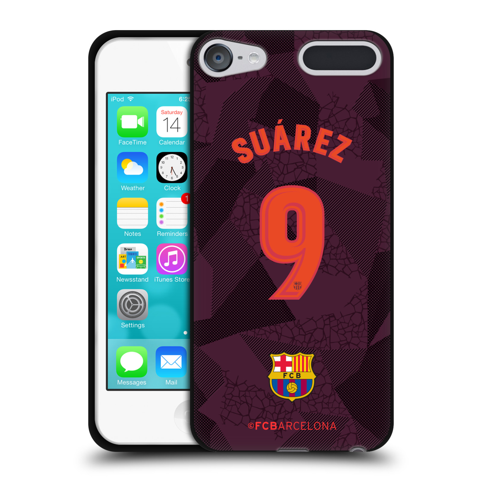 OFFICIAL-FC-BARCELONA-2017-18-THIRD-KIT-1-BLACK-GEL-CASE-FOR-APPLE-iPOD-TOUCH