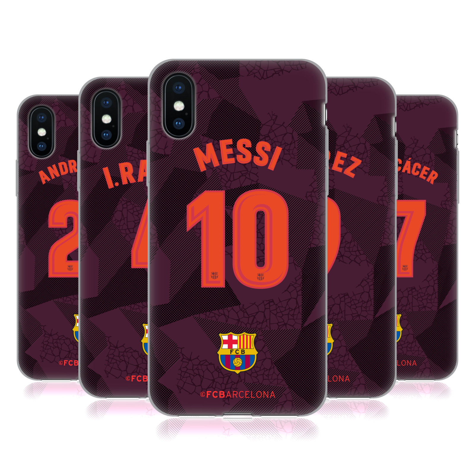 FC Barcelona 2017/18 Players Third Kit Group 1
