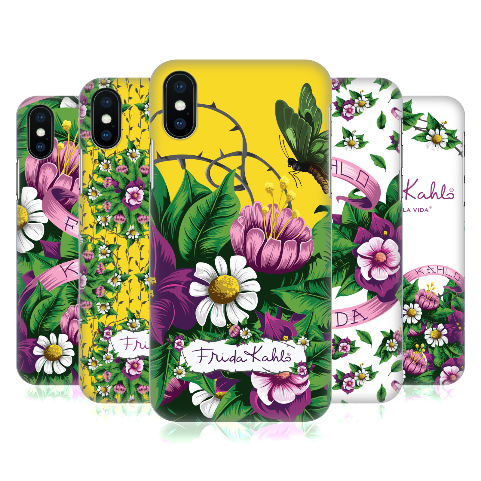 Frida Kahlo Purple Florals
