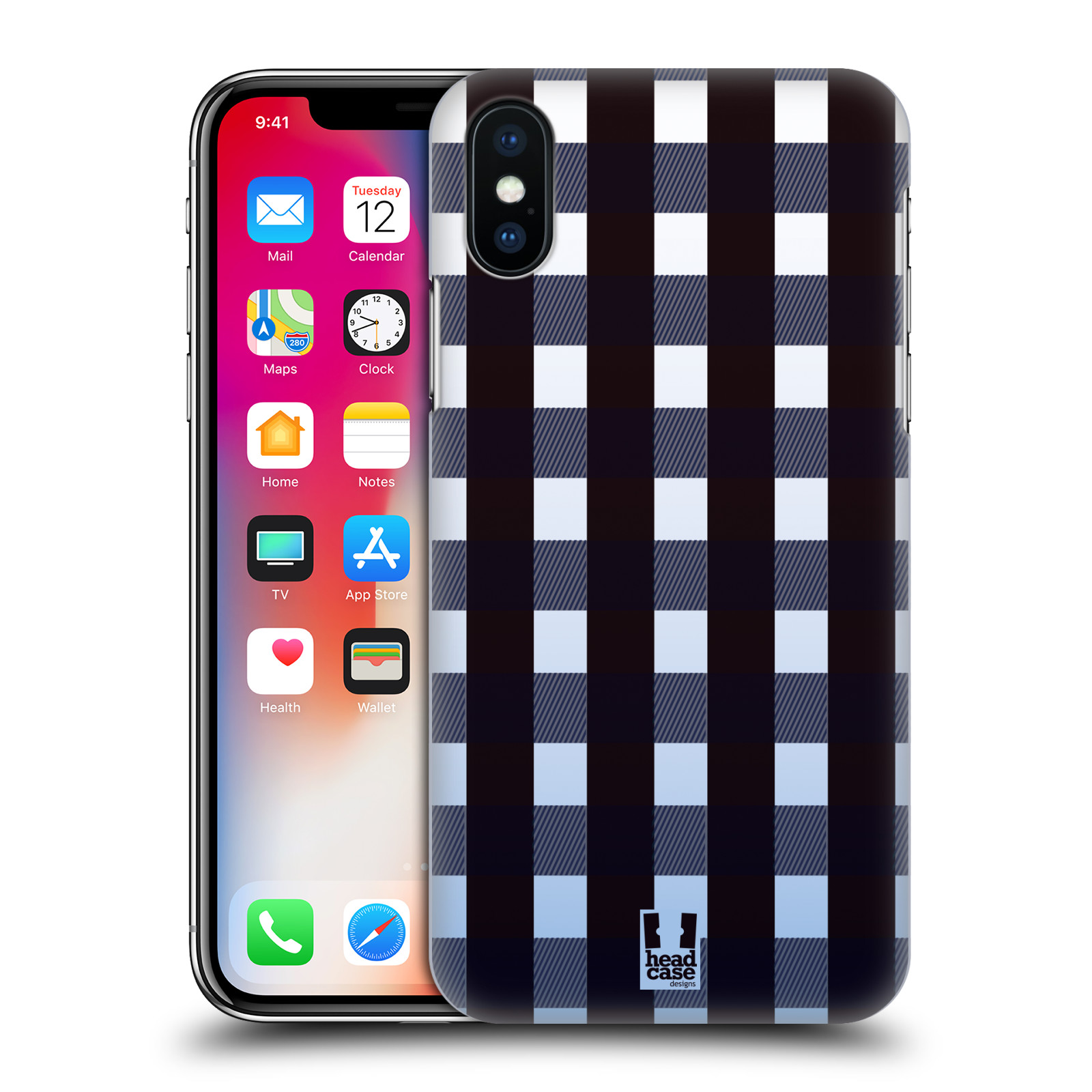 HEAD-CASE-DESIGNS-FLANNEL-FRIDAYS-HARD-BACK-CASE-FOR-APPLE-iPHONE-X